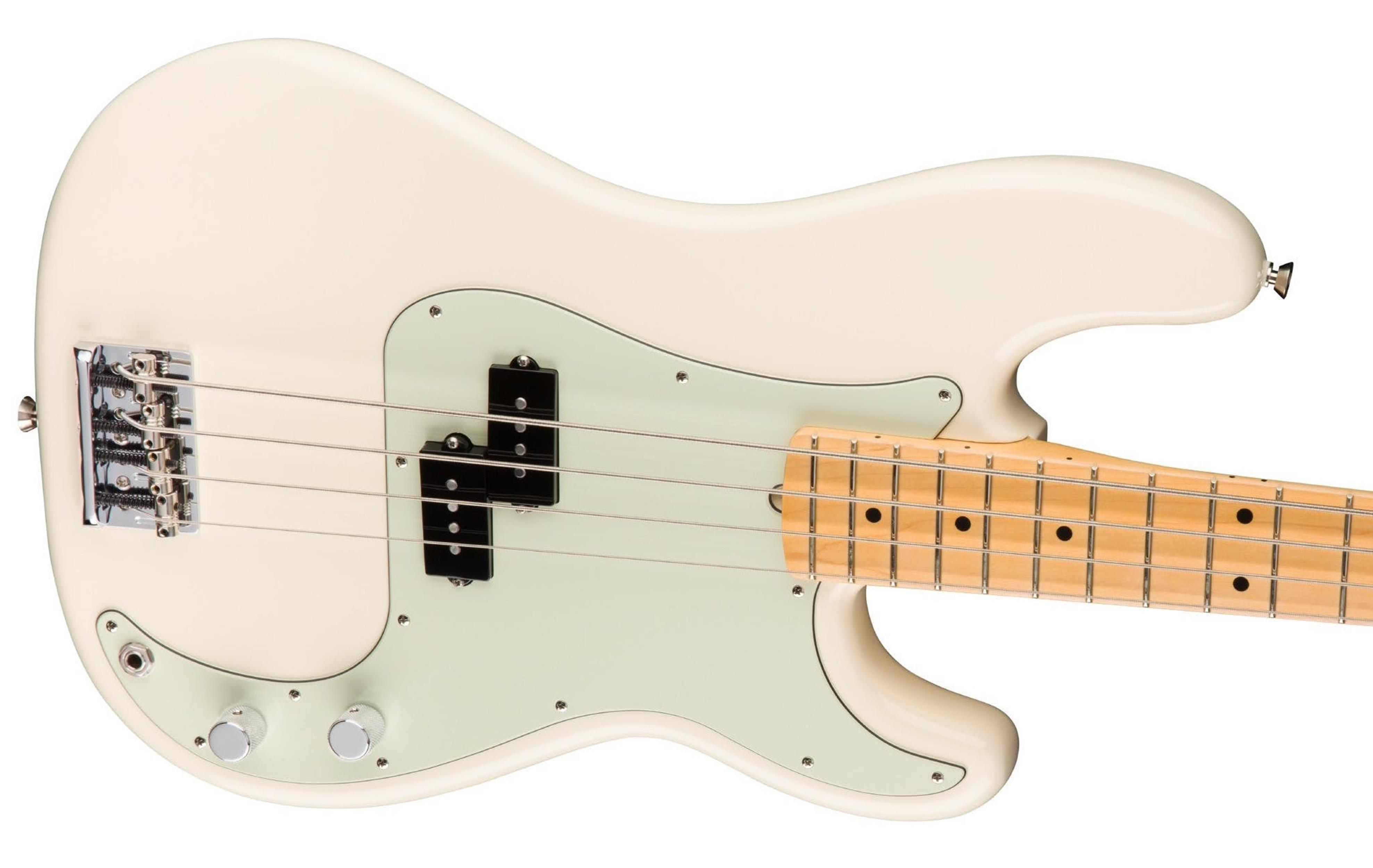 FENDER American Pro Professional Precision Bass MN Olympic White 0193612705  0193612705 - Bassi Bassi - Elettrici 4 Corde
