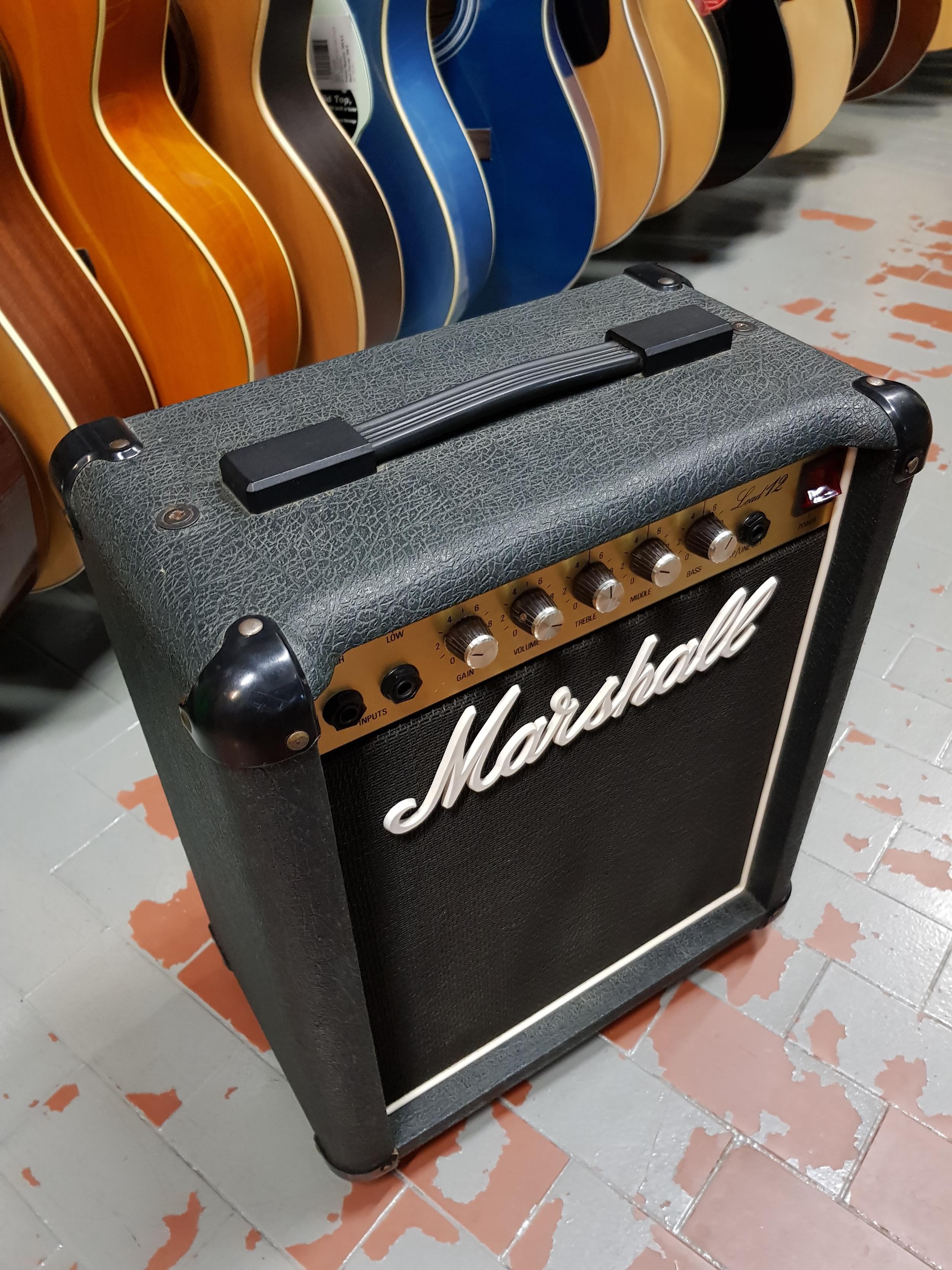 MARSHALL LEAD 12 COMBO . - Chitarre Amplificatori - Combo