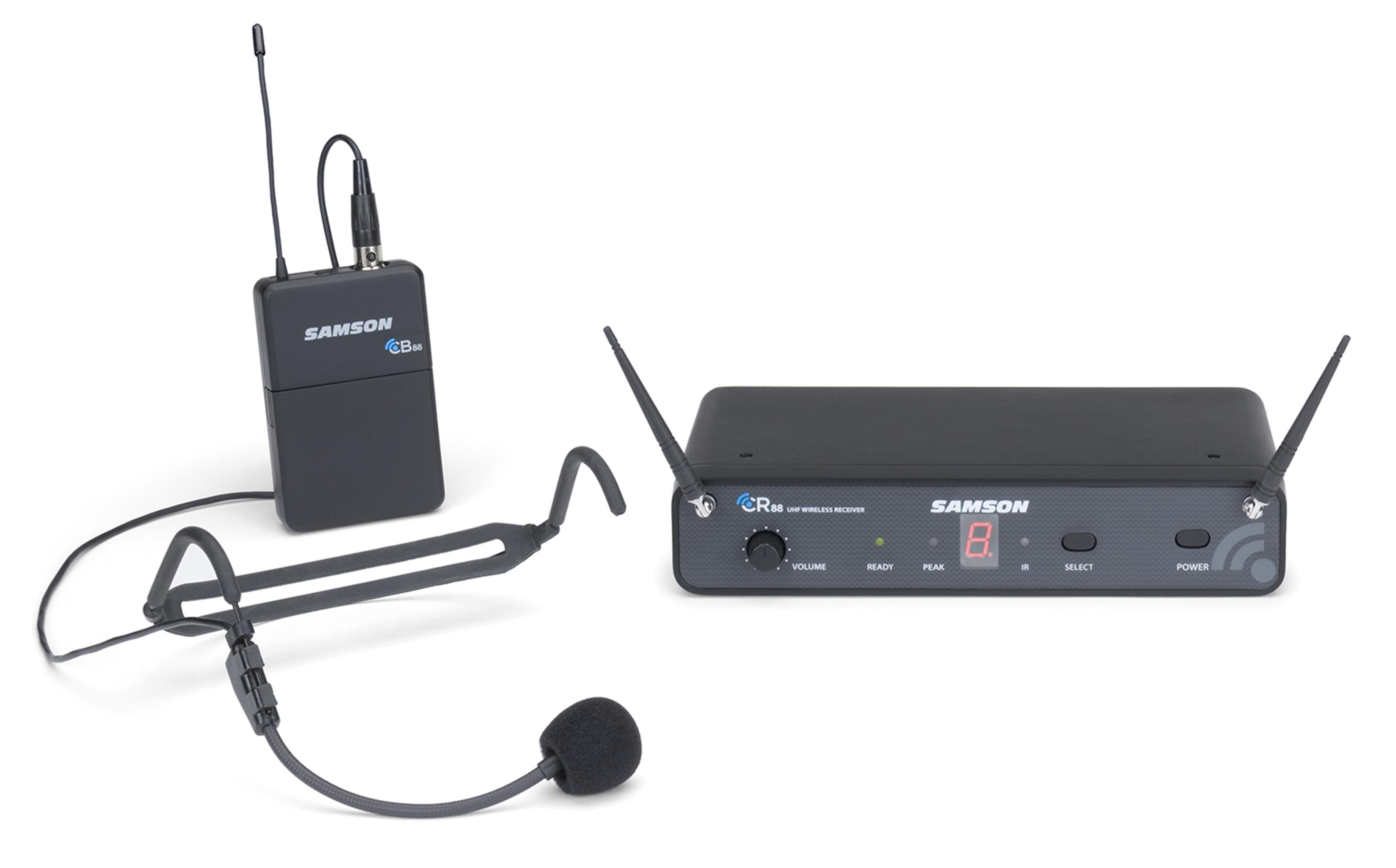 SAMSON-Concert-88-Headset-16-Channel-Wireless-System-HS5-HEADSET-ARCHETTO-sku-21226