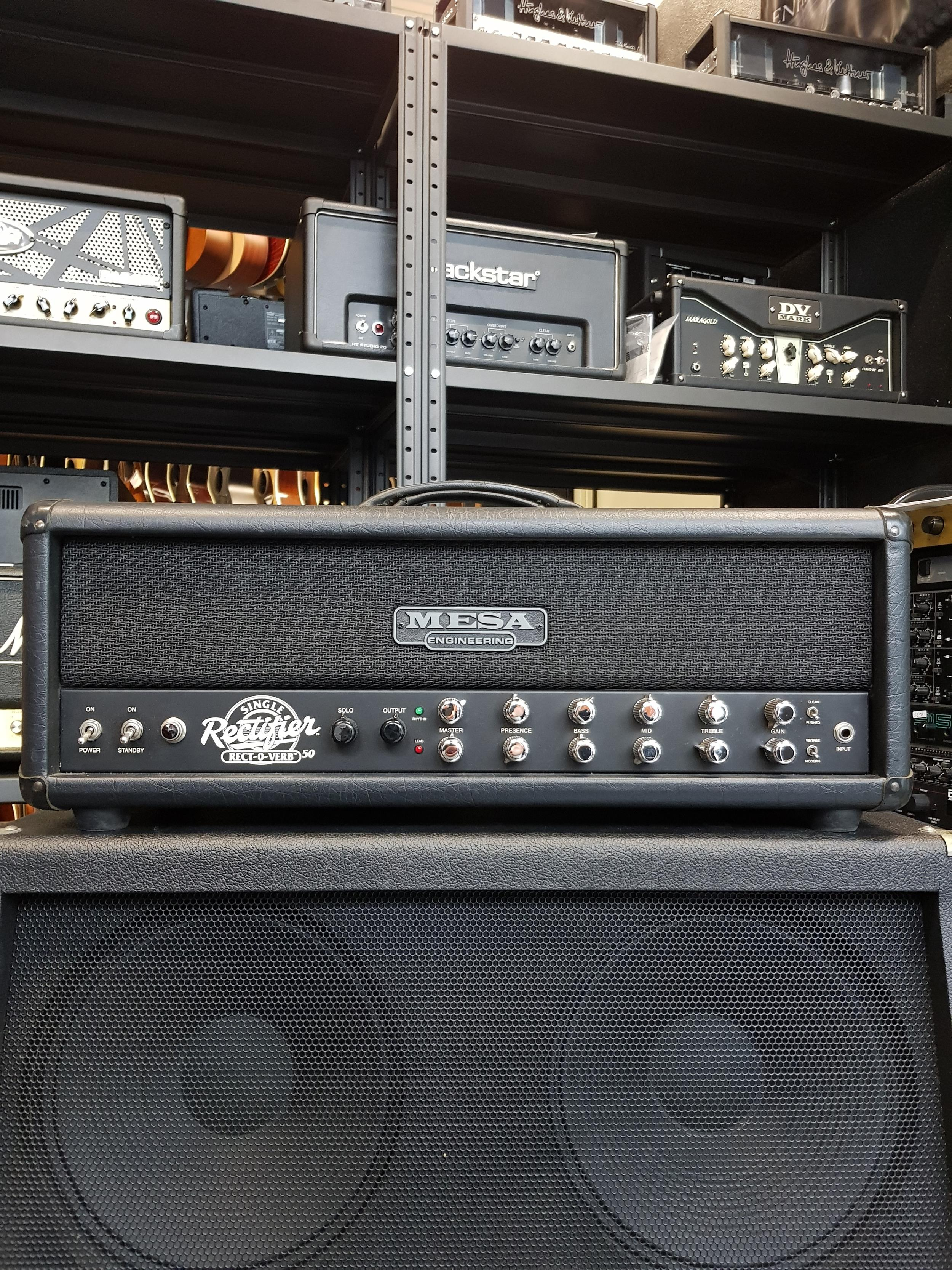 MESA/BOOGIE SINGLE RECTIFIER RECTOVERB RECTO .