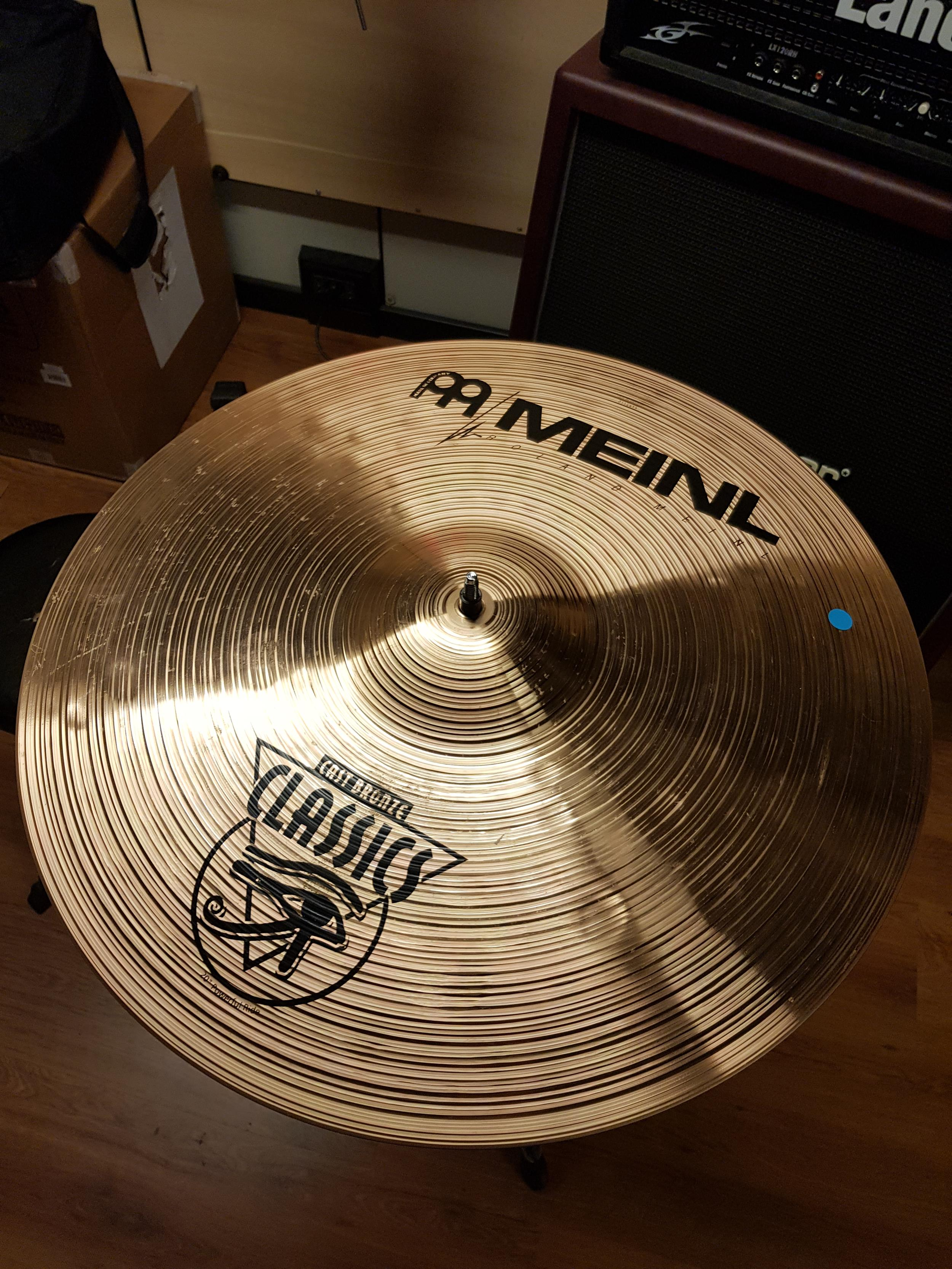 MEINL CAST BRONZE RIDE 20 .