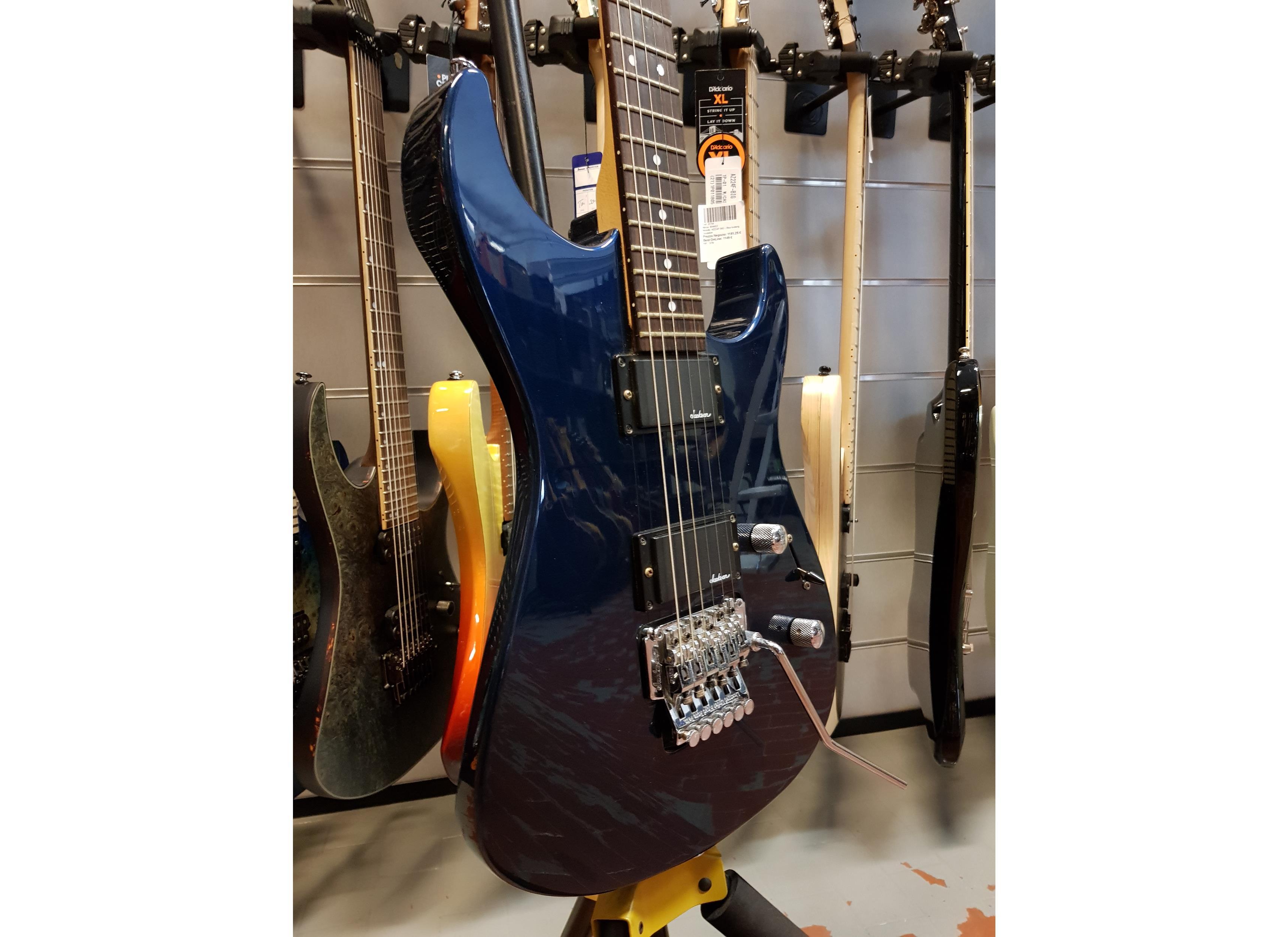 JACKSON JS 30 DK JAPAN DEEP BLUE .