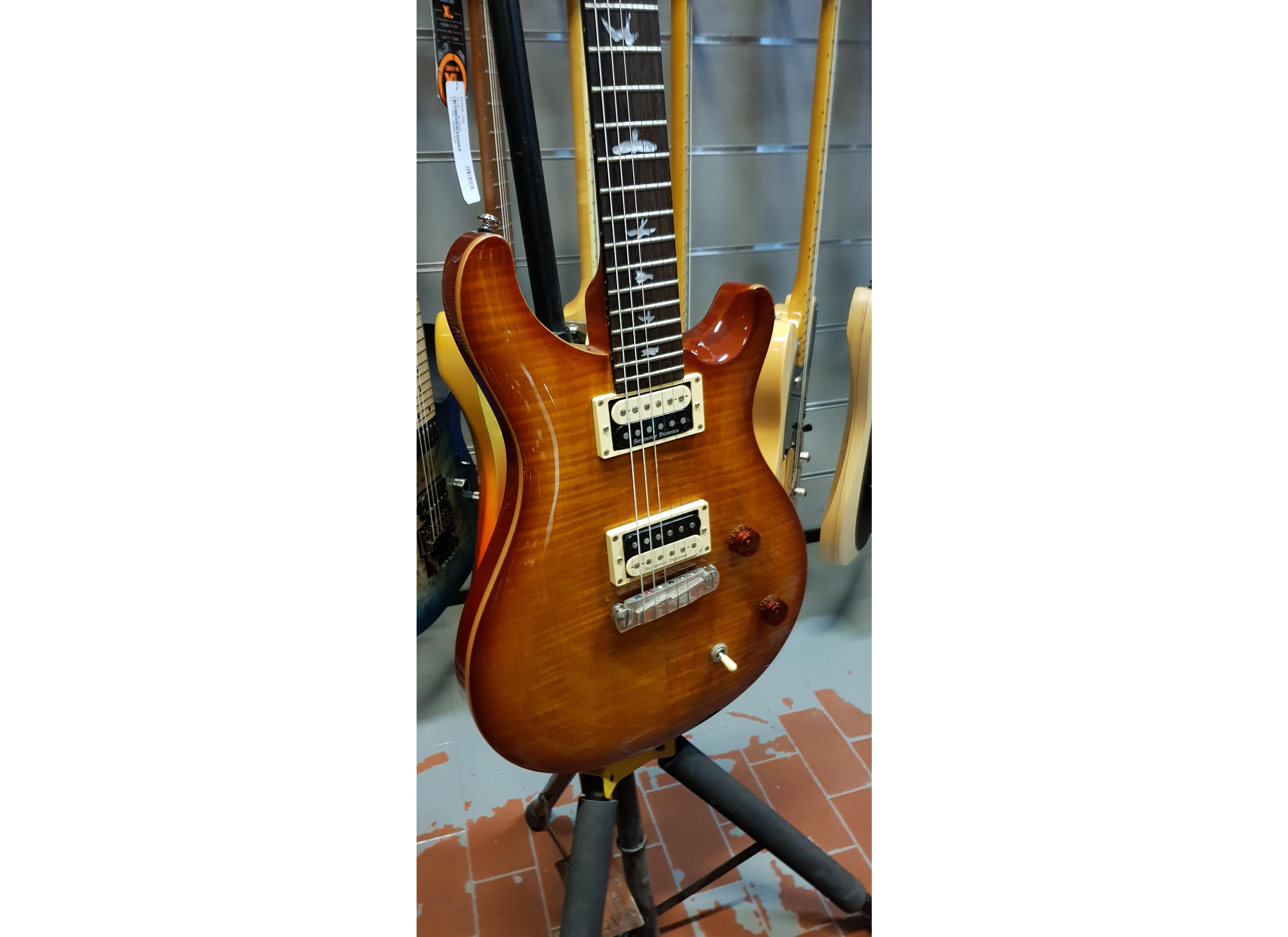 PRS - PAUL REED SMITH SE CUSTOM 22 SUNBURST + SEYMOUR DUNCAN ..