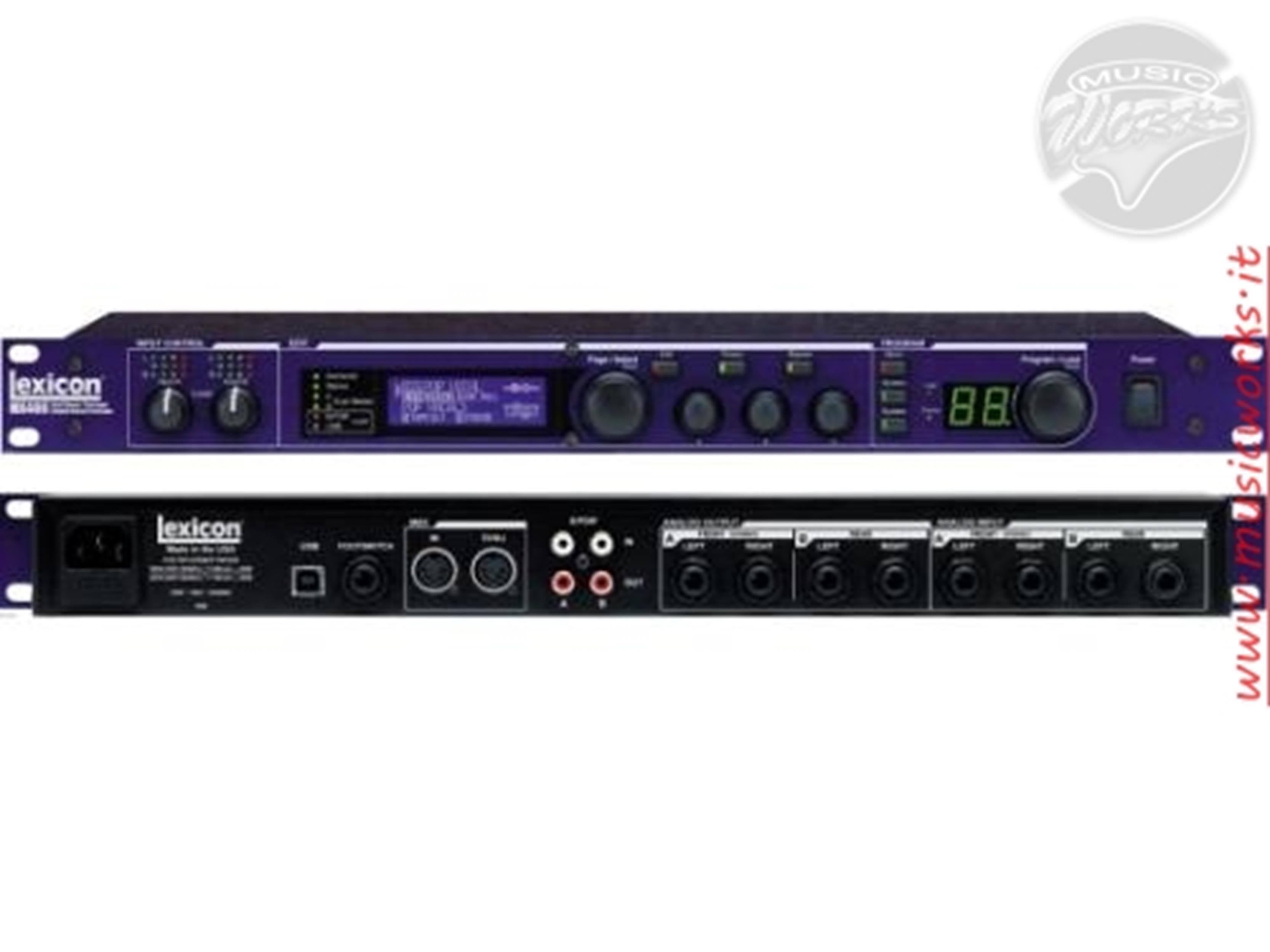 LEXICON MX400 - Voce - Audio Outboard ed Effetti - Processori di segnale