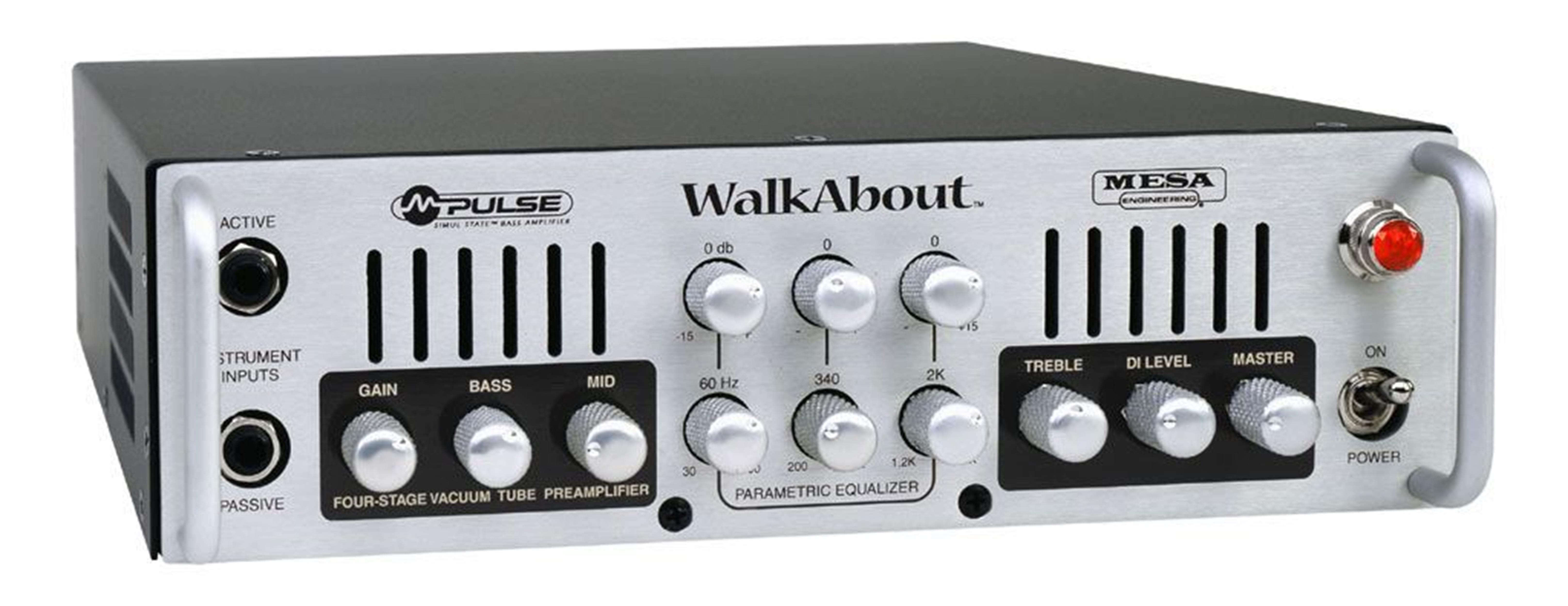 Mesa/Boogie WalkAbout - 300W (165 @ 8) - c/borsa - Bassi Amplificatori - Testate