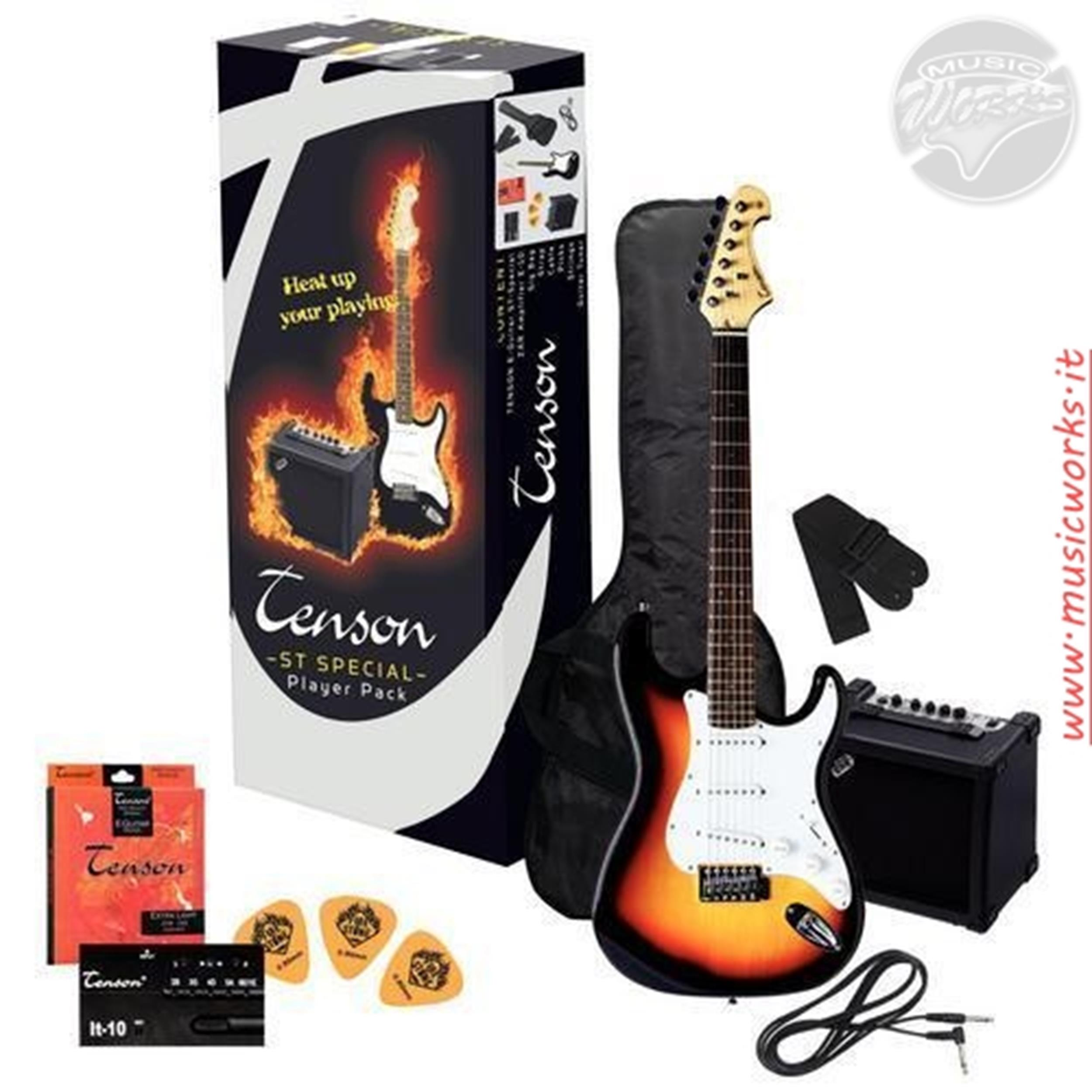 VGS ST SPECIAL PLAYER GUITAR PACK KIT SUNBURST