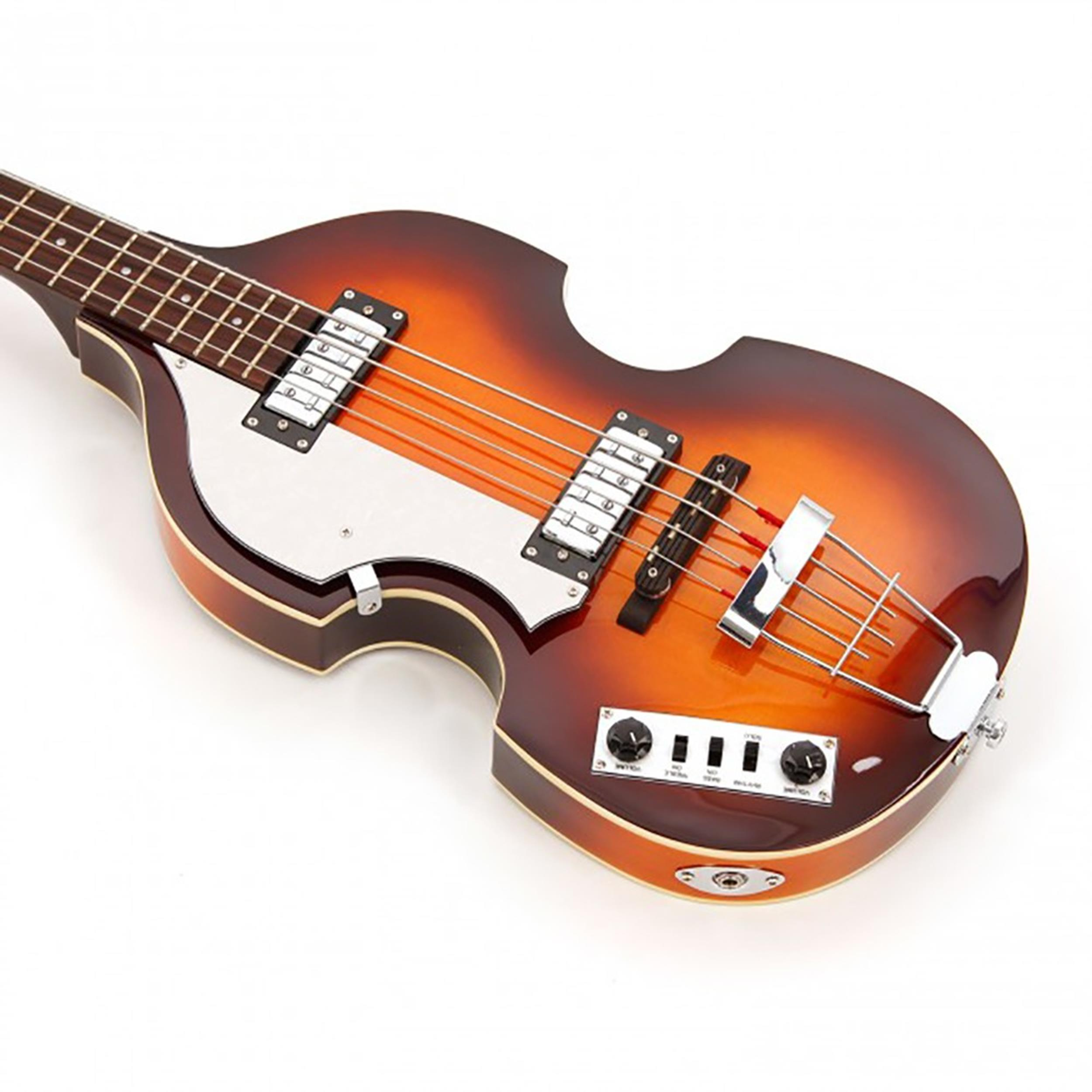 HOFNER HI BB L SB IGNITION VIOLIN BEATLES BASS SUNBURST MANCINO LEFT HAND