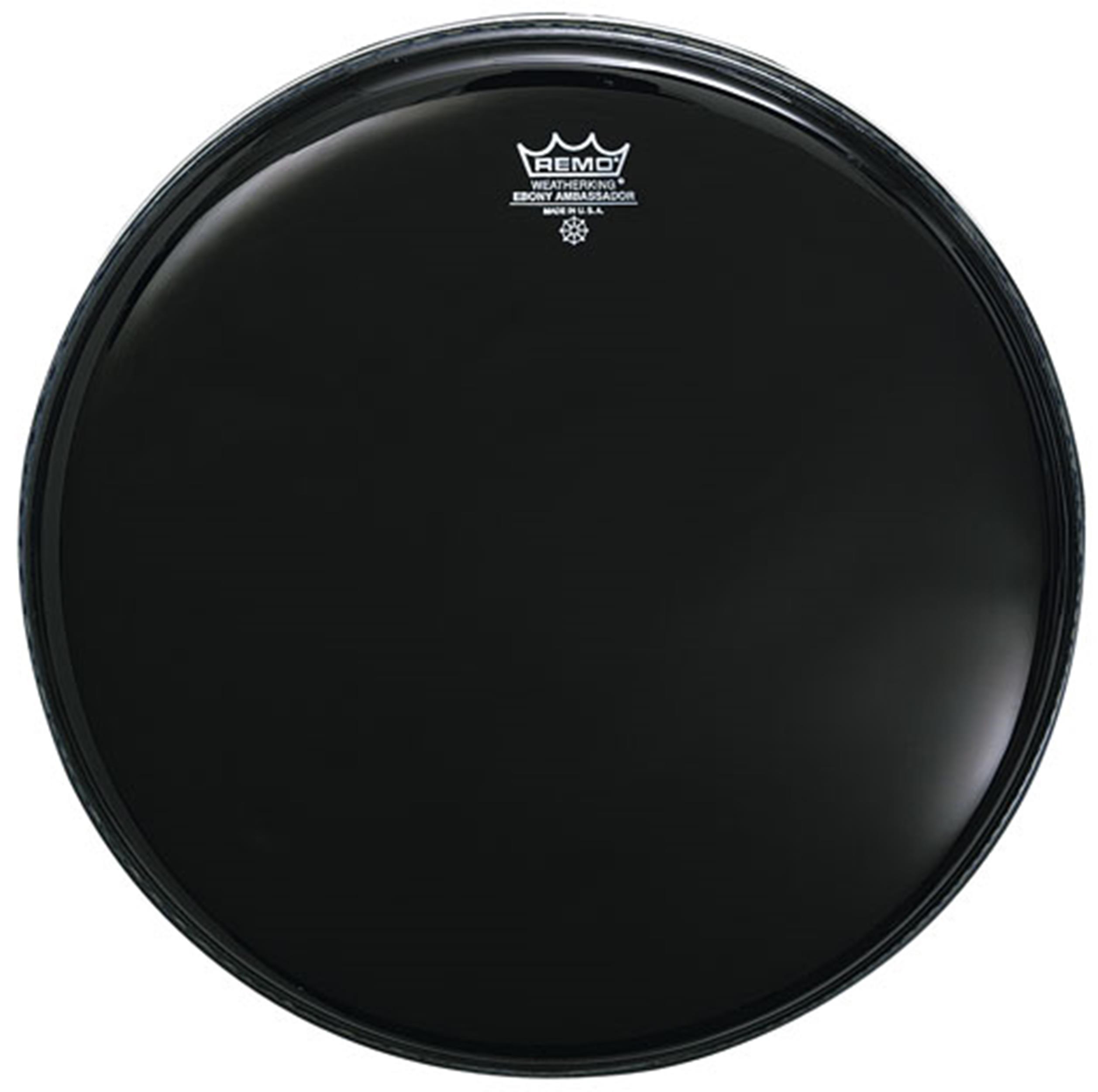 REMO AMBASSADOR W.K. WEATHER KING NERA CASSA 24 - Batterie / Percussioni Accessori - Pelli e Cerchi