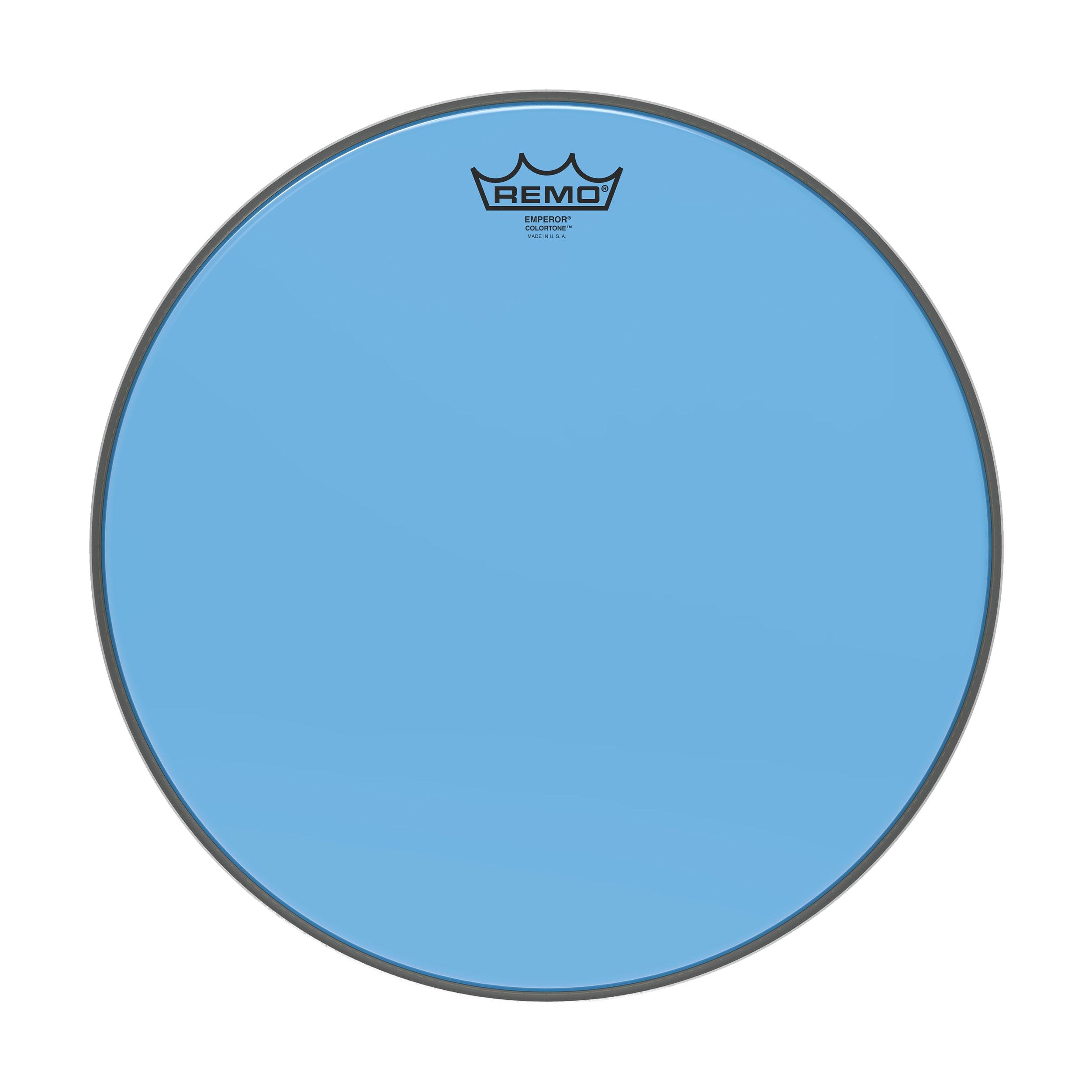 REMO BE-0310-CT-BU - Remo-Pelle battente/risonante Emperor COLORTONE Trasparente Tom 10 Blue