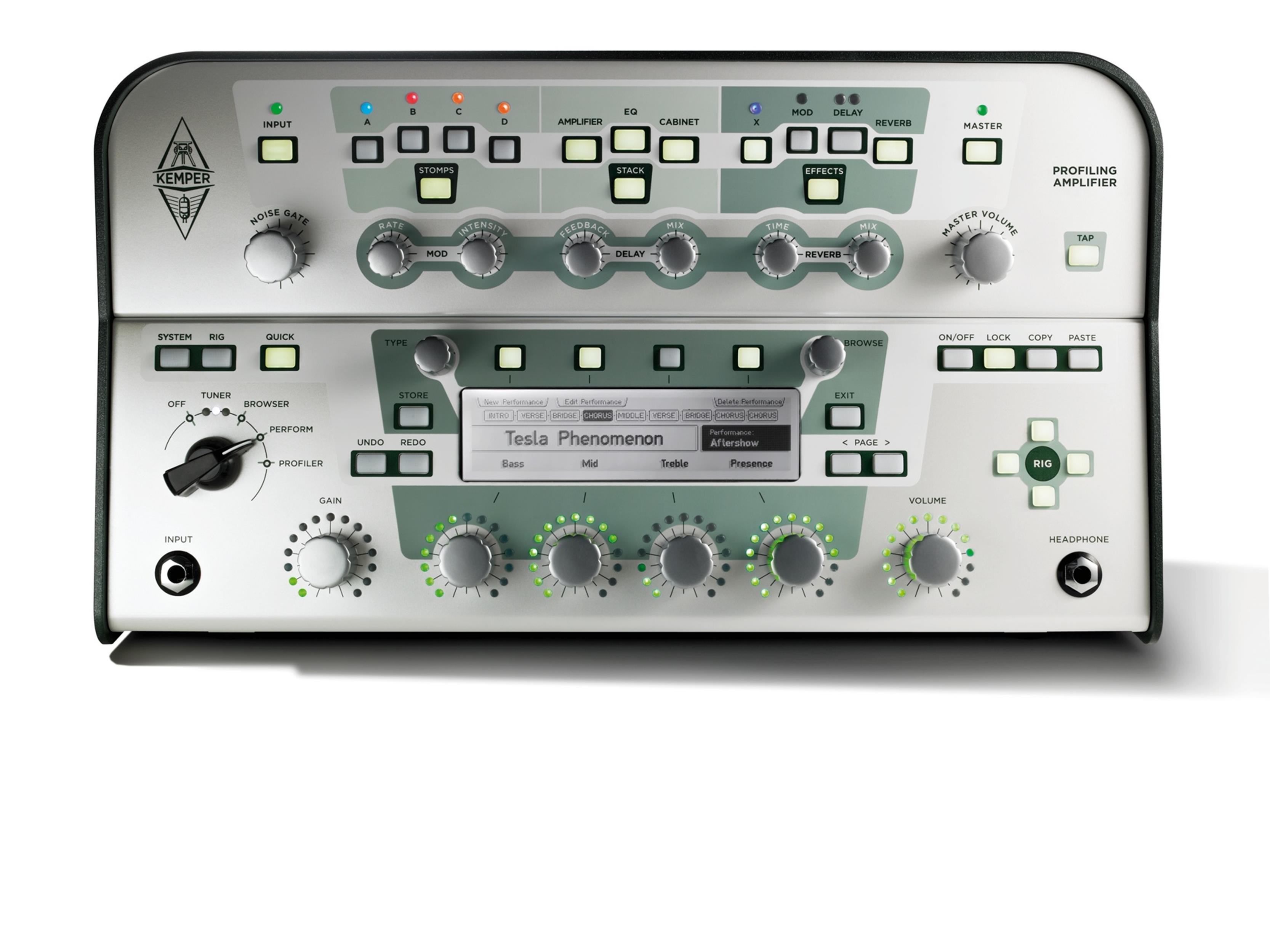 KEMPER PROFILER HEAD CLASSIC WHITE - Chitarre Amplificatori - Testate