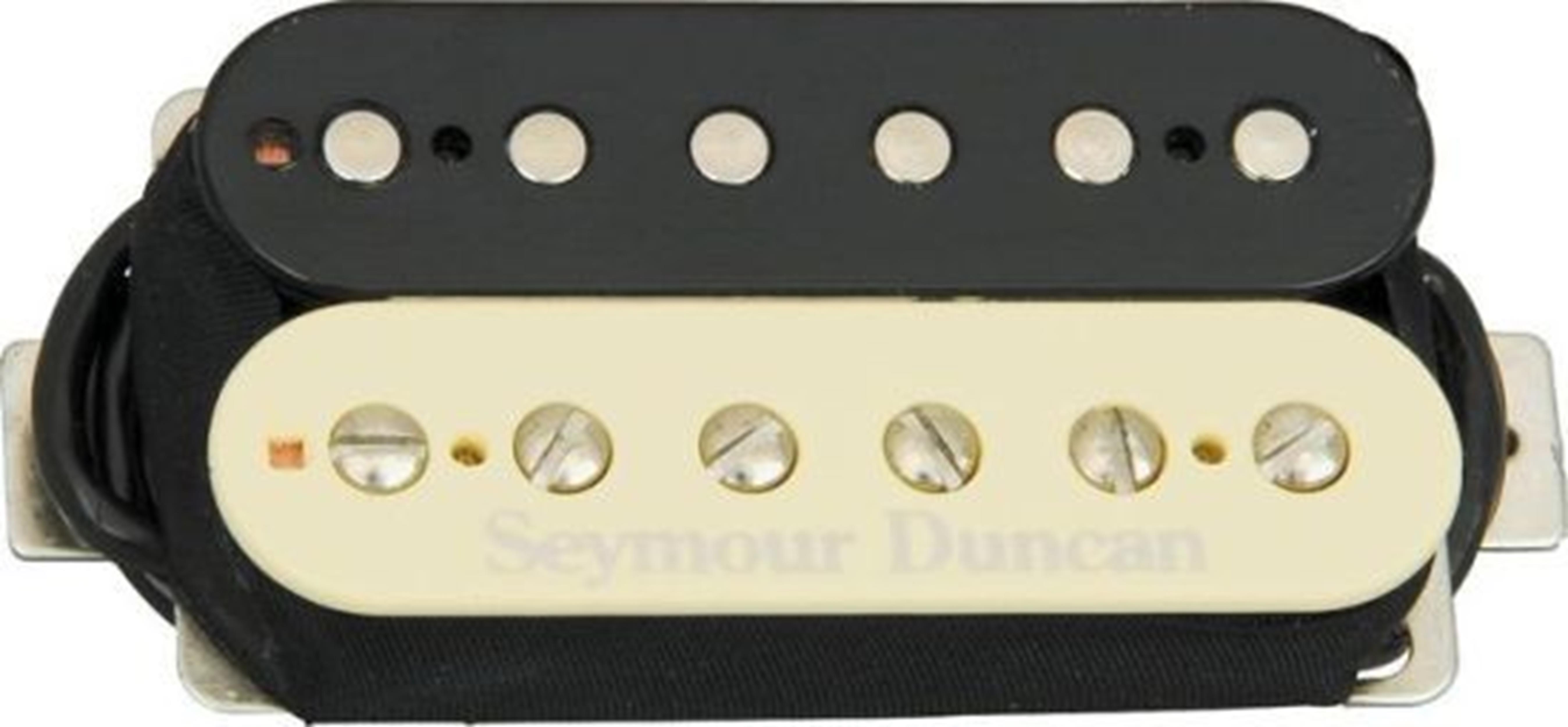 SEYMOUR-DUNCAN TB 5 B CUSTOM TREMBUCKER REV ZEBRA