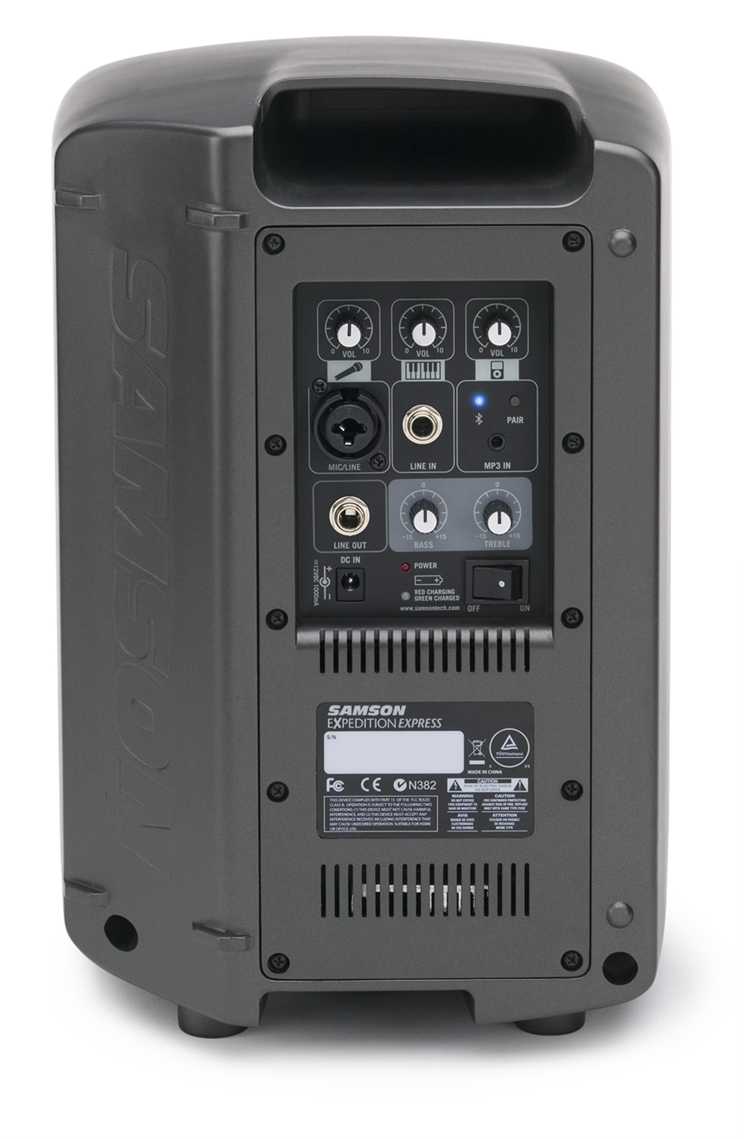 Samson EXPEDITION XP106 - PA Portatile con Bluetooth - 100W