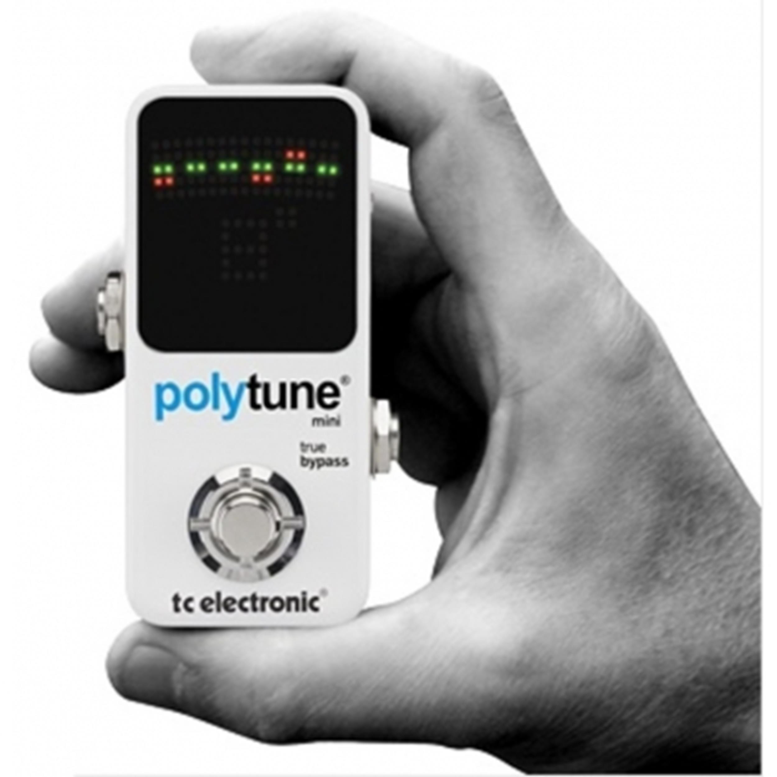 TC ELECTRONIC POLYTUNE 2 II MINI WHITE