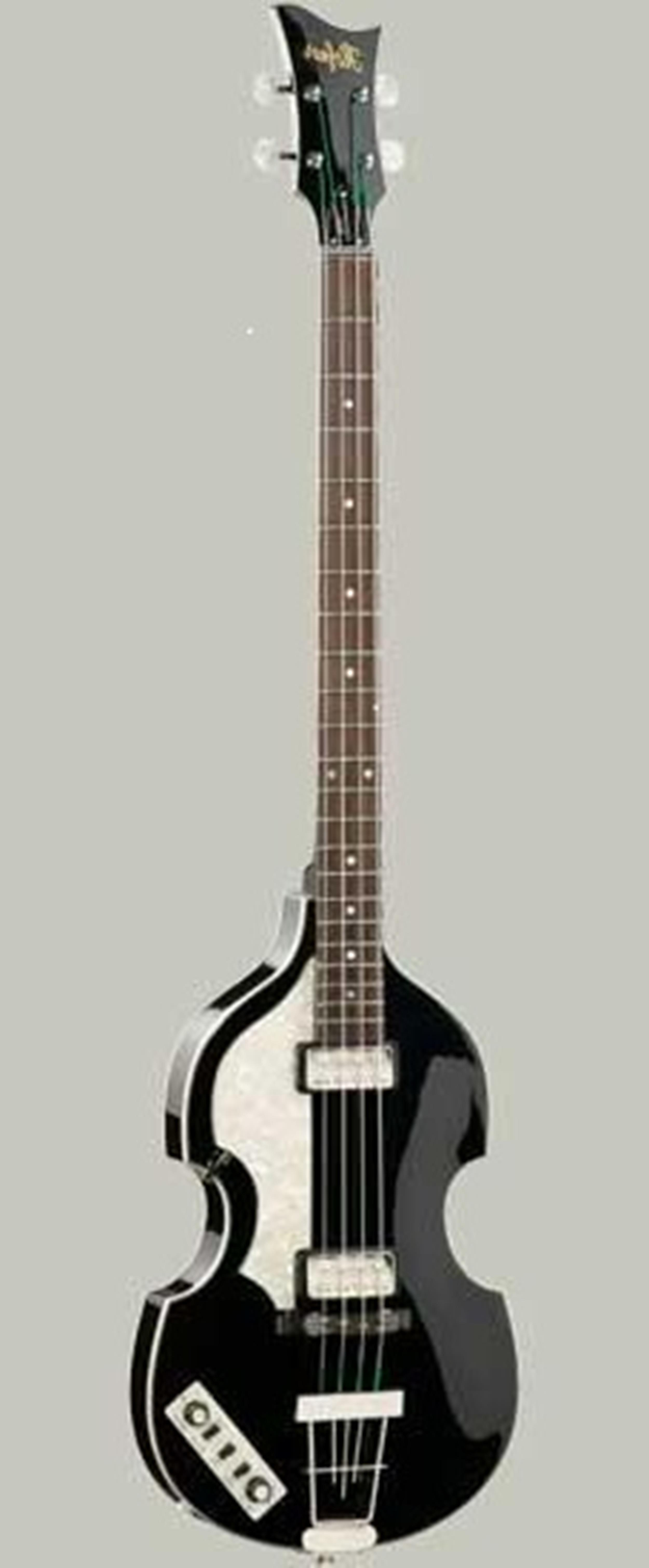 HOFNER HCT 500/1 L CONTEMPORARY VIOLIN BEATLES BASS BLACK MANCINO LEFT