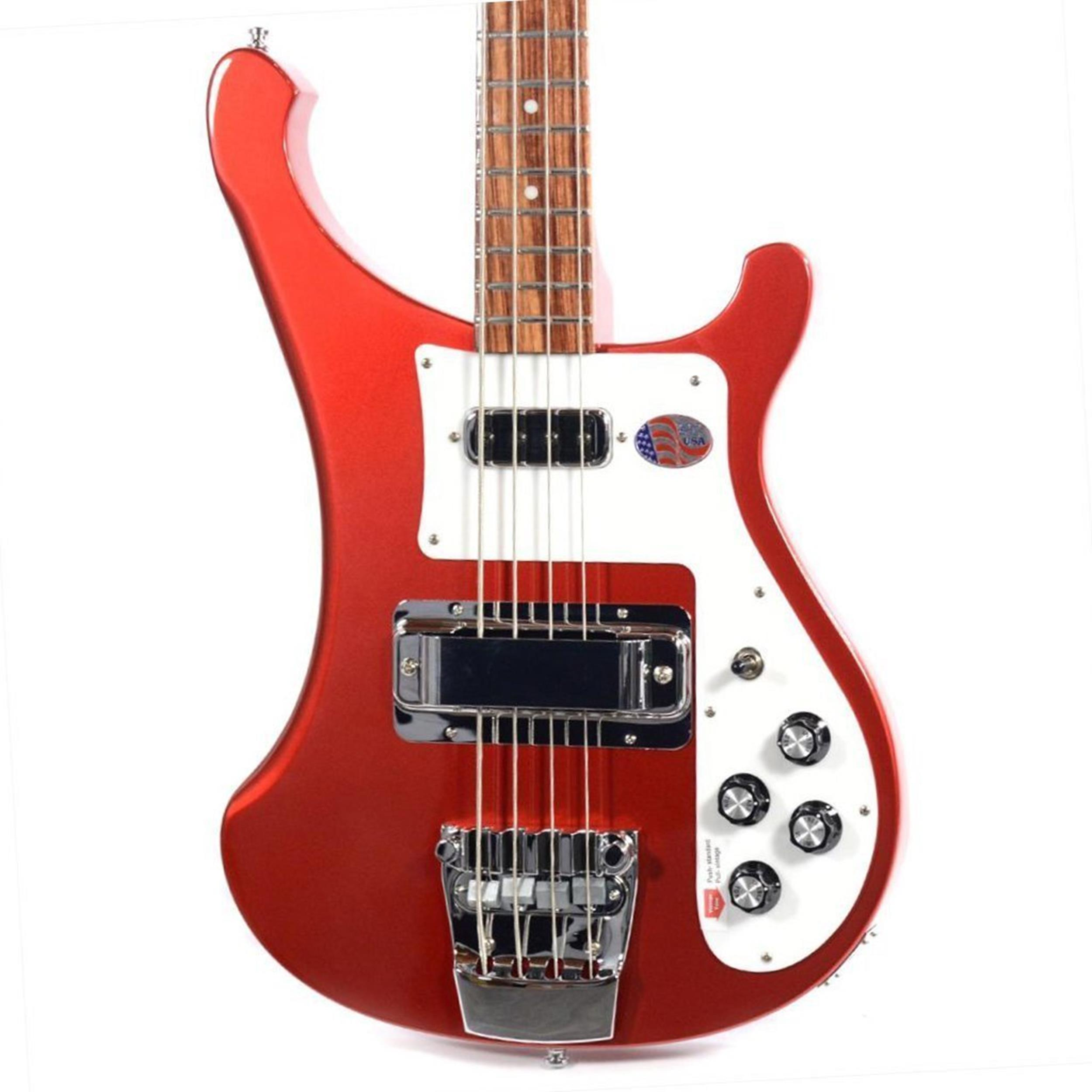RICKENBACKER 4003 S BASS RBY RUBY RED - Bassi Bassi - Elettrici 4 Corde