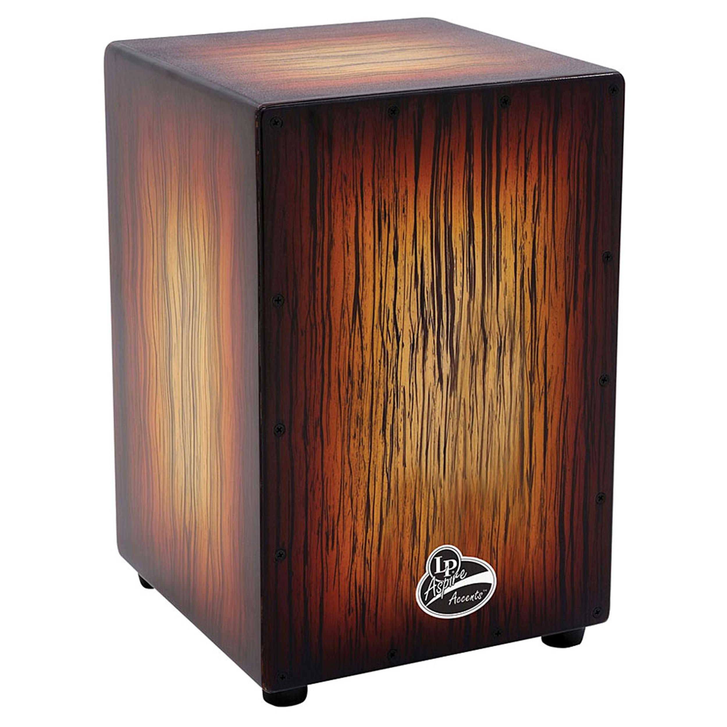 LATIN PERCUSSION LPA1332BSB ASPIRE CAJON BROWN SUNBURST
