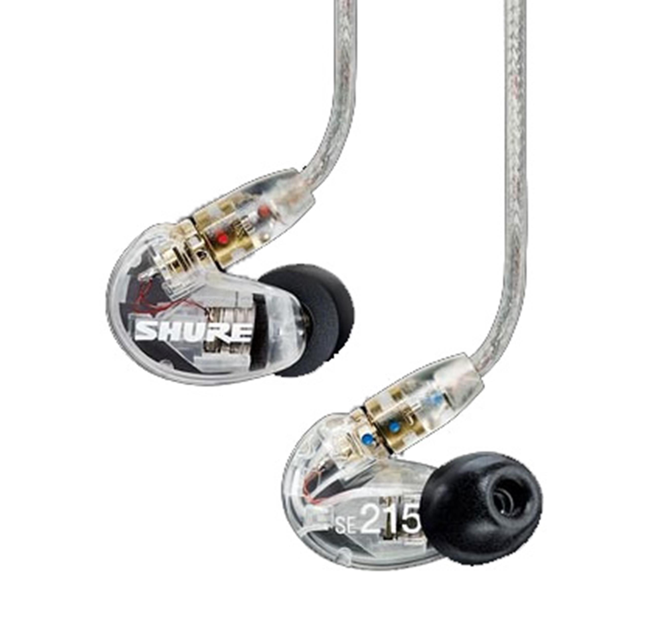 SHURE SE215 TRASPARENTI EAR MONITOR