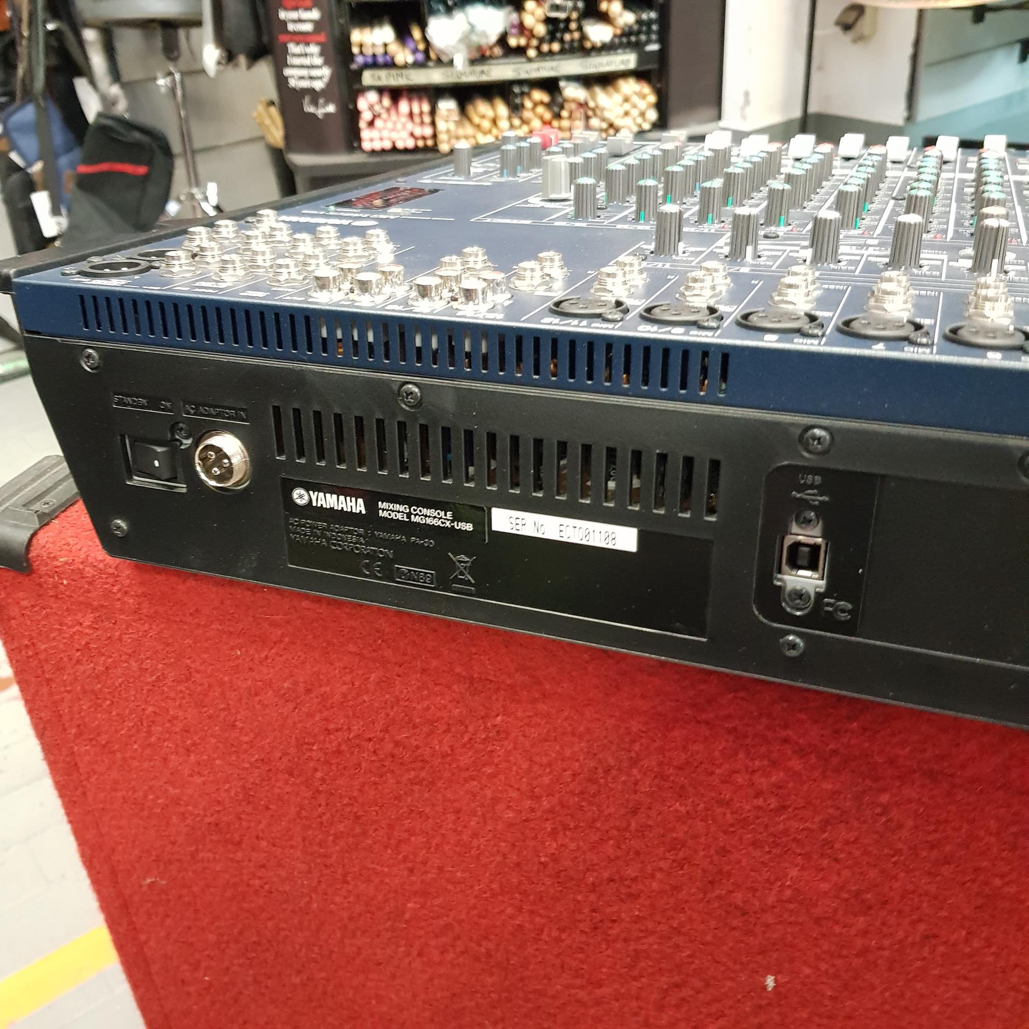 YAMAHA MG166CX USB