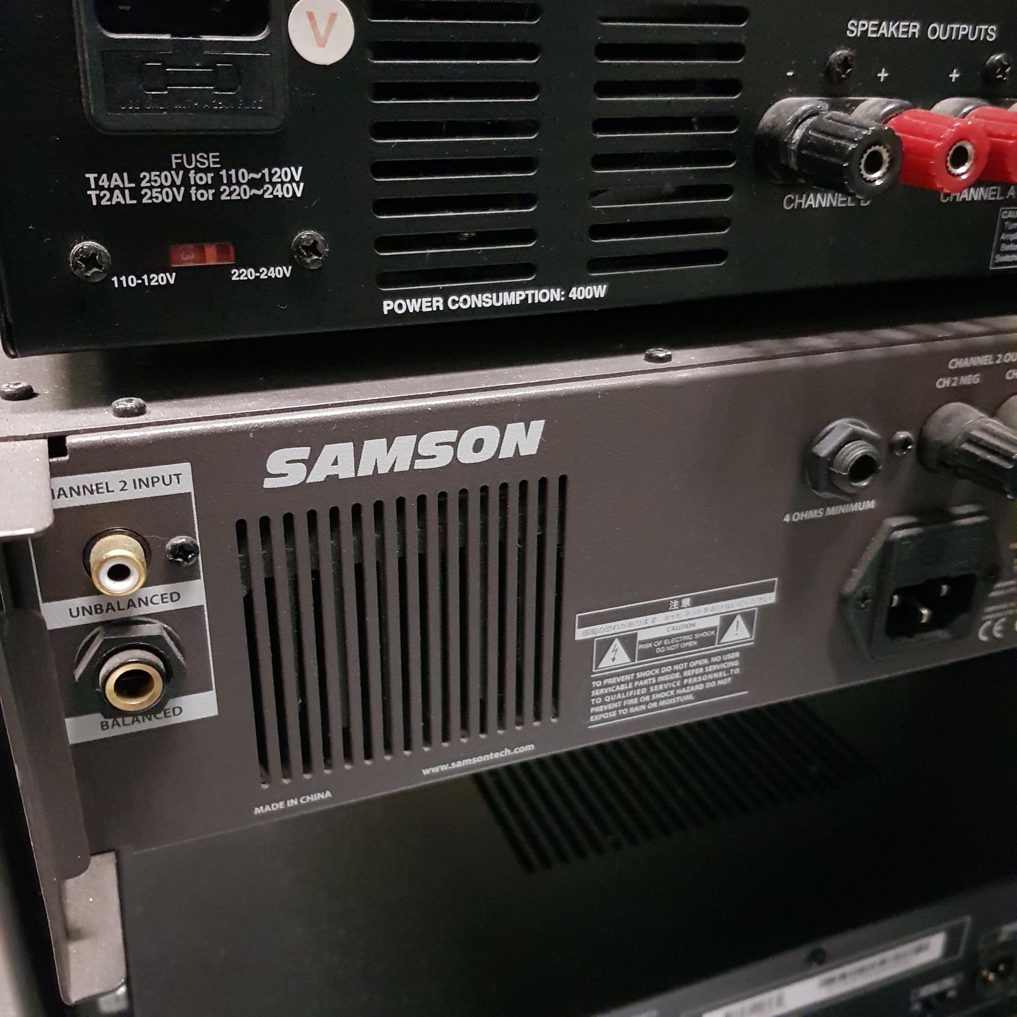 SAMSON SERVO 600 POWERAMP
