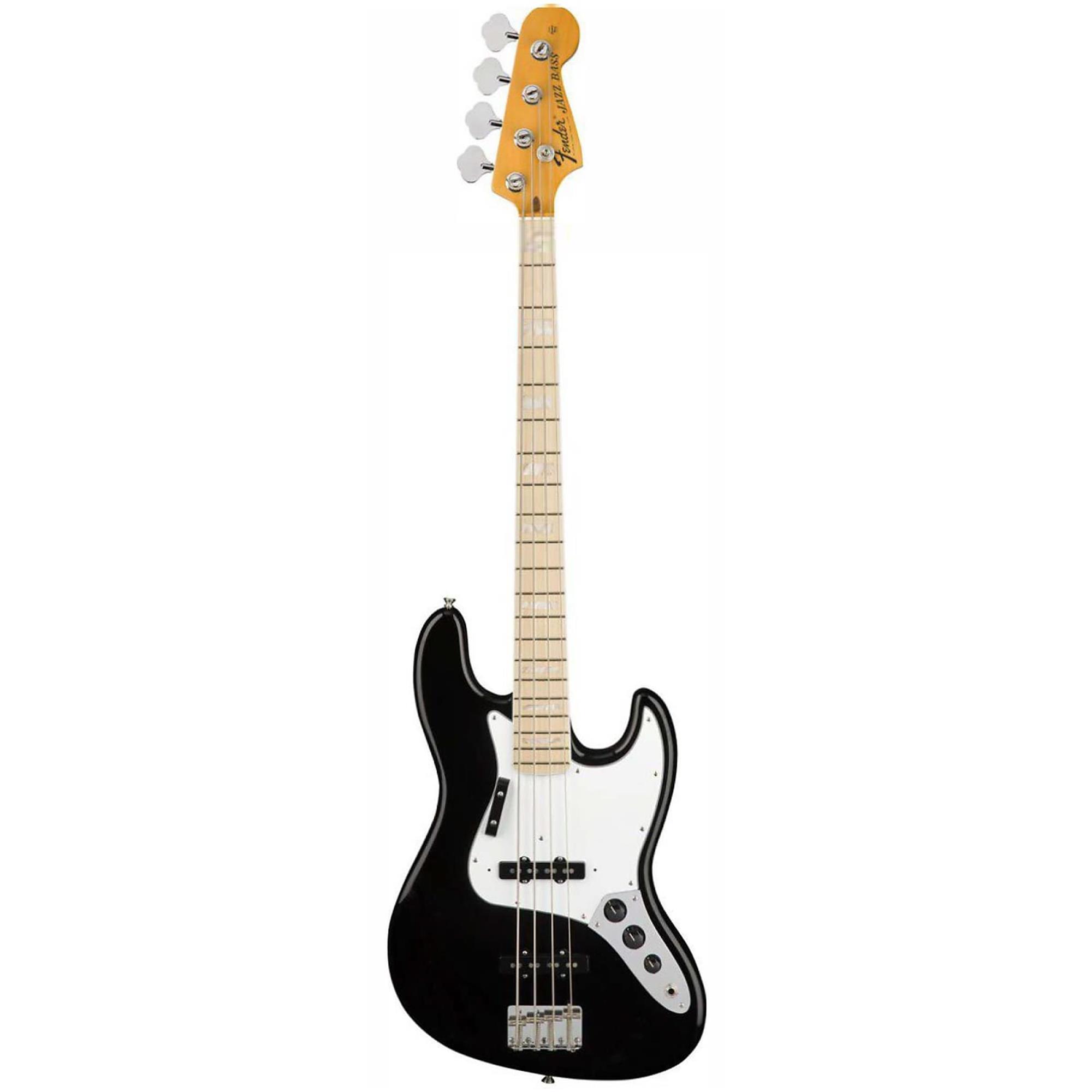 FENDER American Original 70 s Jazz Bass Black 0190142806