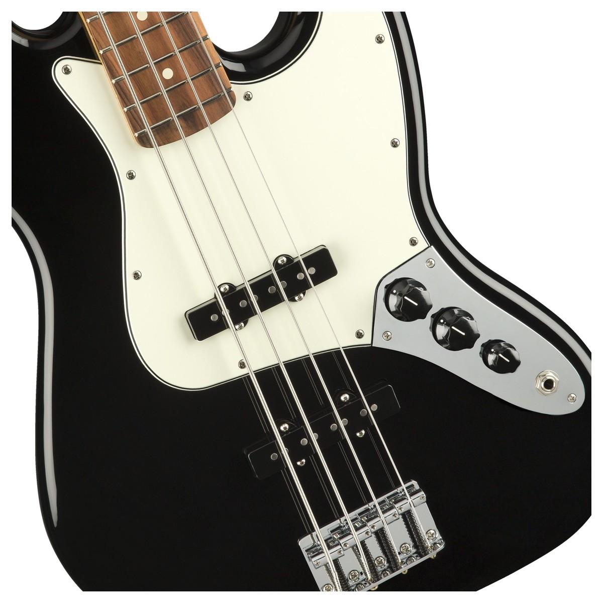 FENDER Player Jazz Bass PF Black 0149903506