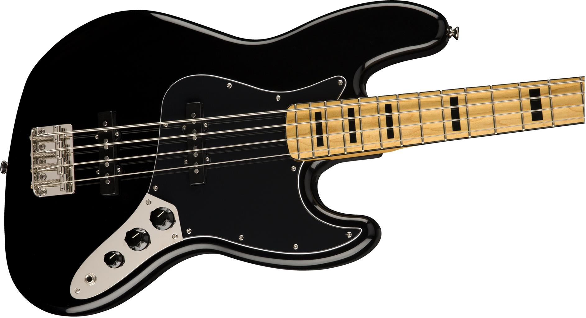 SQUIER Classic Vibe 70s Jazz Bass MN Black  0374540506