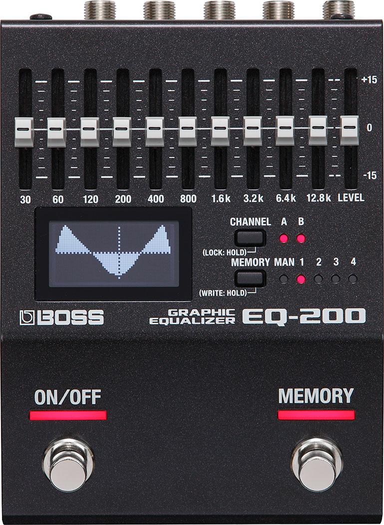 BOSS EQ 200 Graphic Equalizer