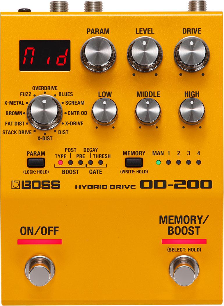 BOSS OD 200 Hybrid Overdrive