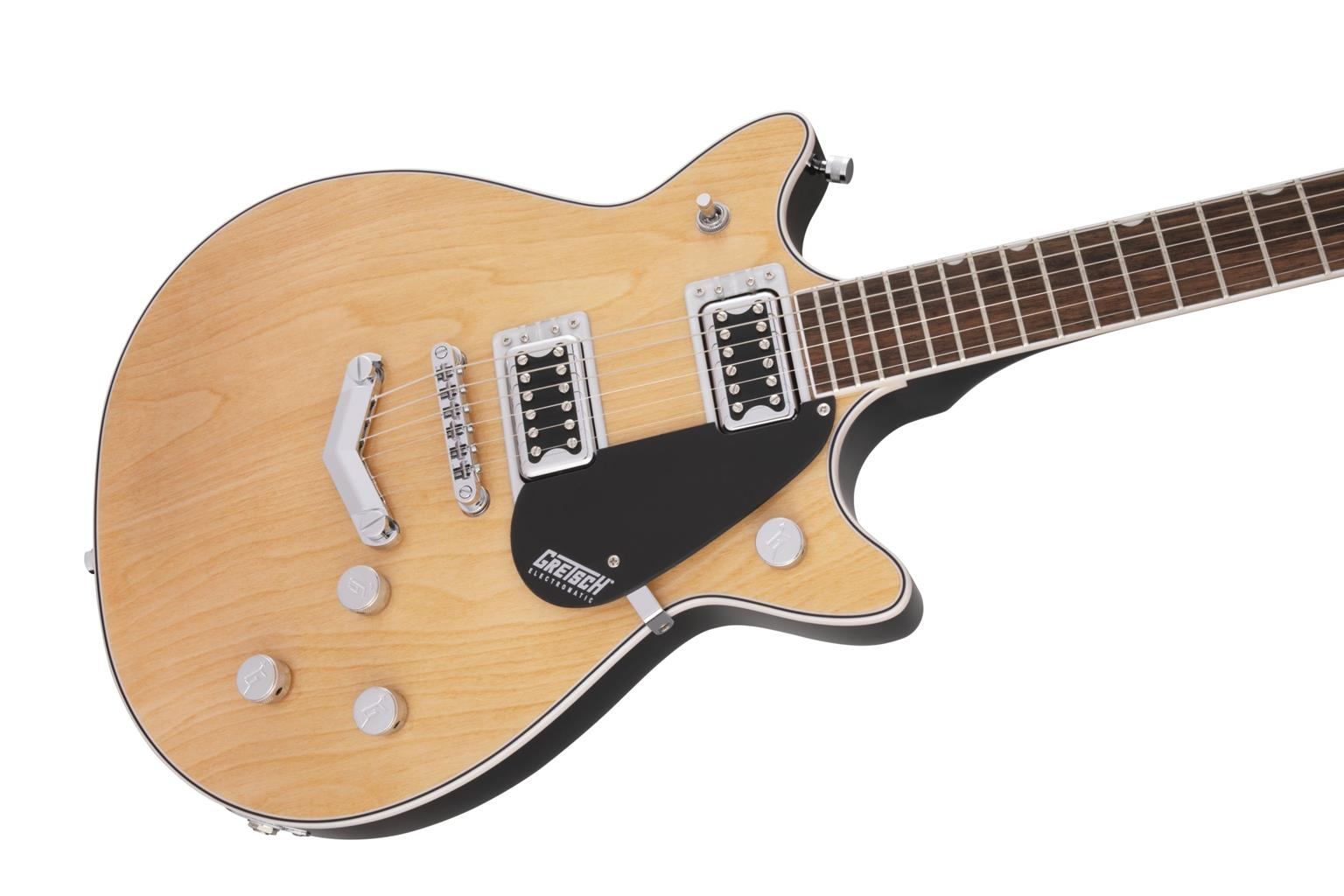 GRETSCH G5222 Electromatic Double Jet BT with V-Stoptail LF Aged Natural 2509310521