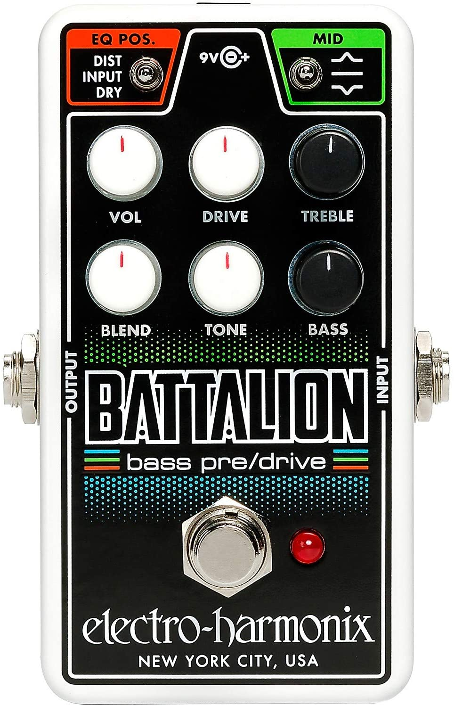 ELECTRO HARMONIX NANO BATTALION BASS PRE-DRIVE