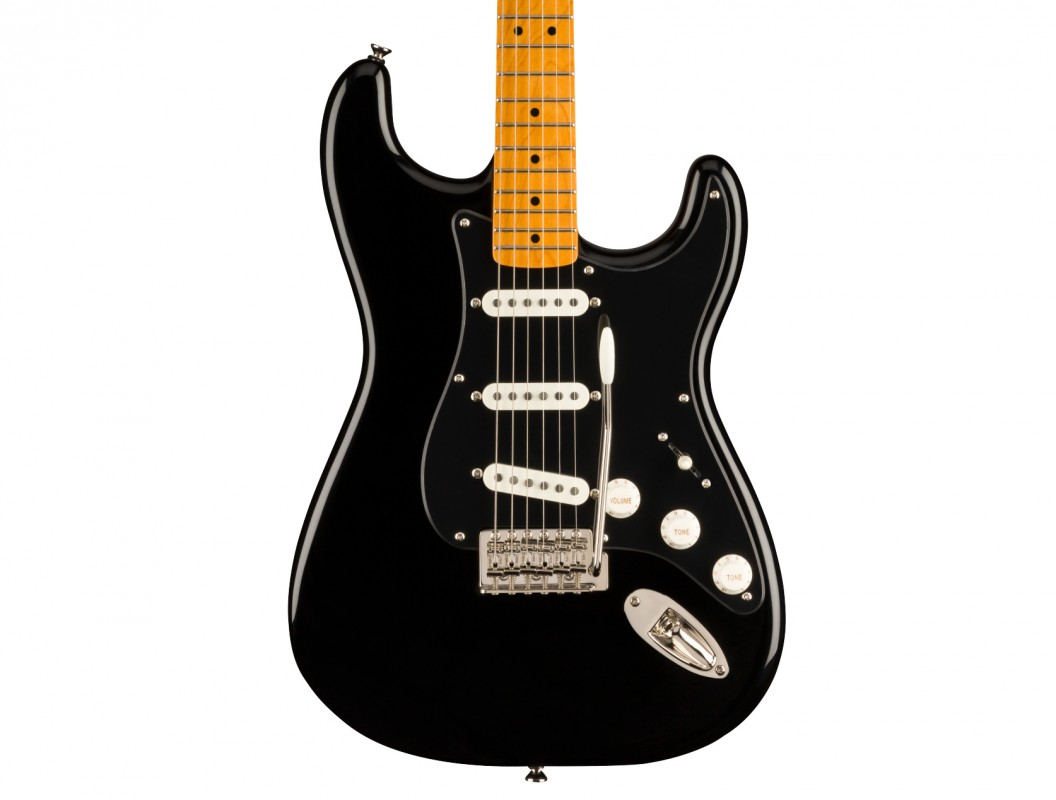 SQUIER FSR Classic Vibe 50s Stratocaster MN Black with Black Pickguard 0374007506