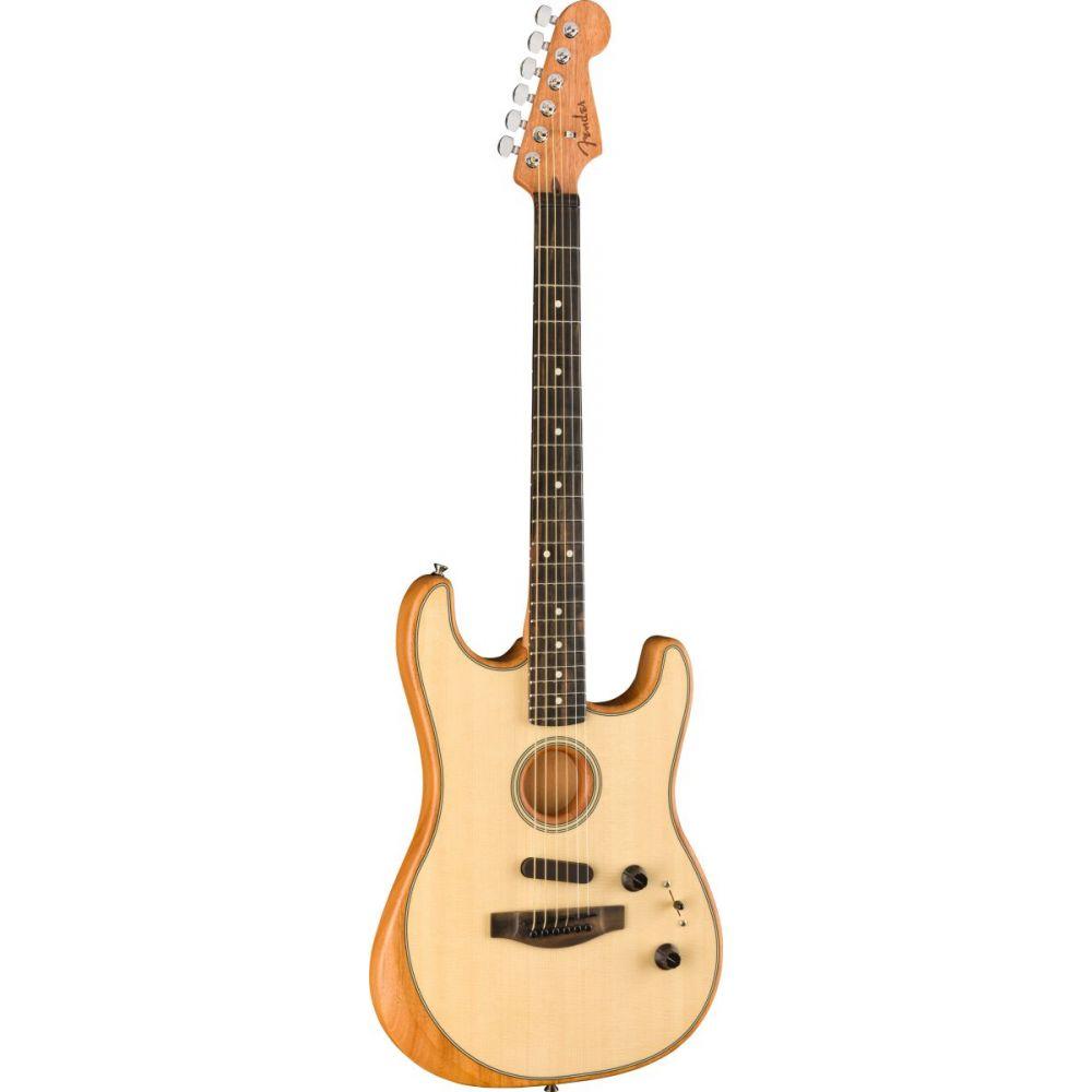 FENDER American Acoustasonic Strat Stratocaster EB Natural  0972023221