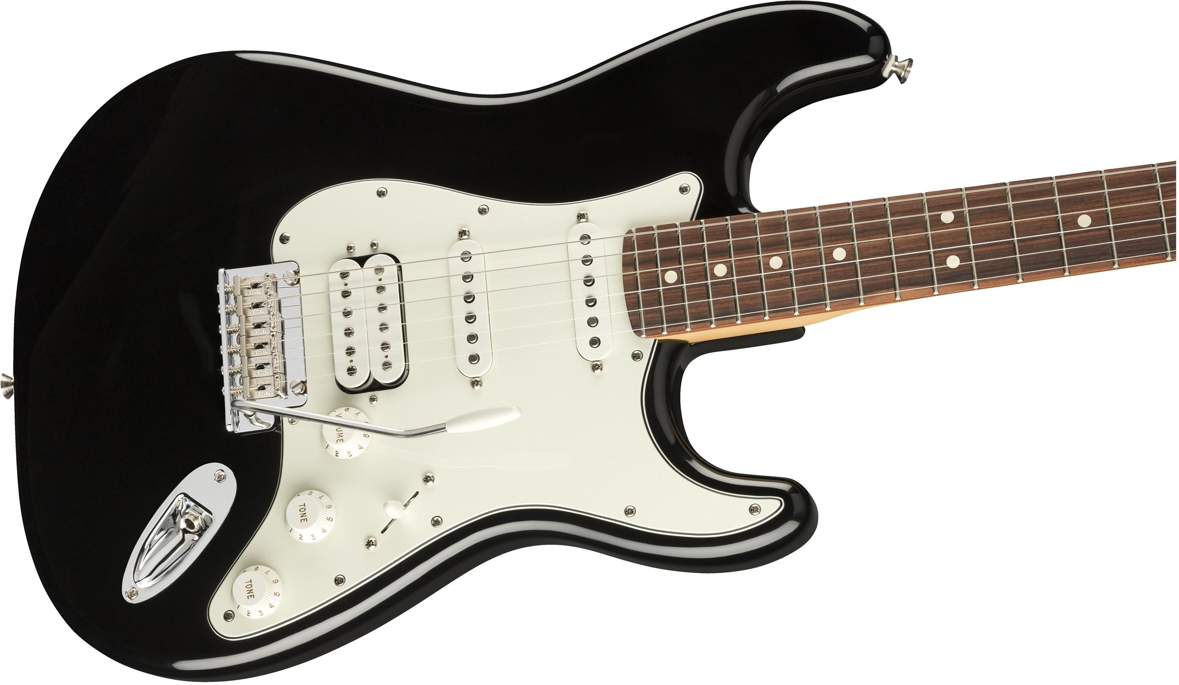 FENDER Player Stratocaster HSS PF Black 0144523506