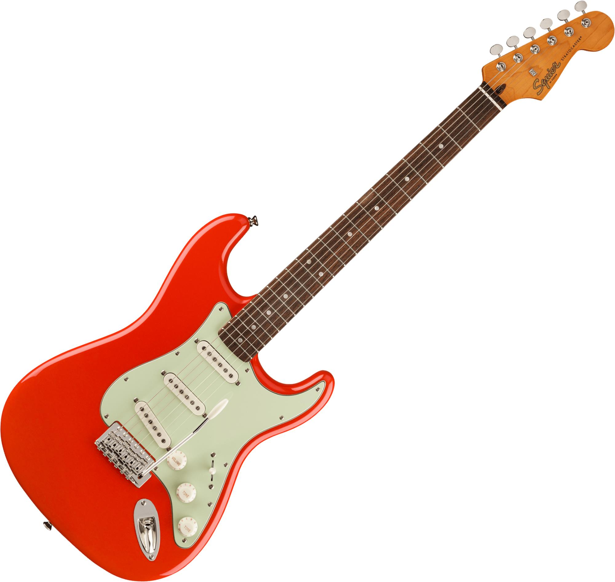 SQUIER FSR Classic Vibe 60s Stratocaster LF Mint Pickguard -  Fiesta Red - LIMITED EDITION 0374011540