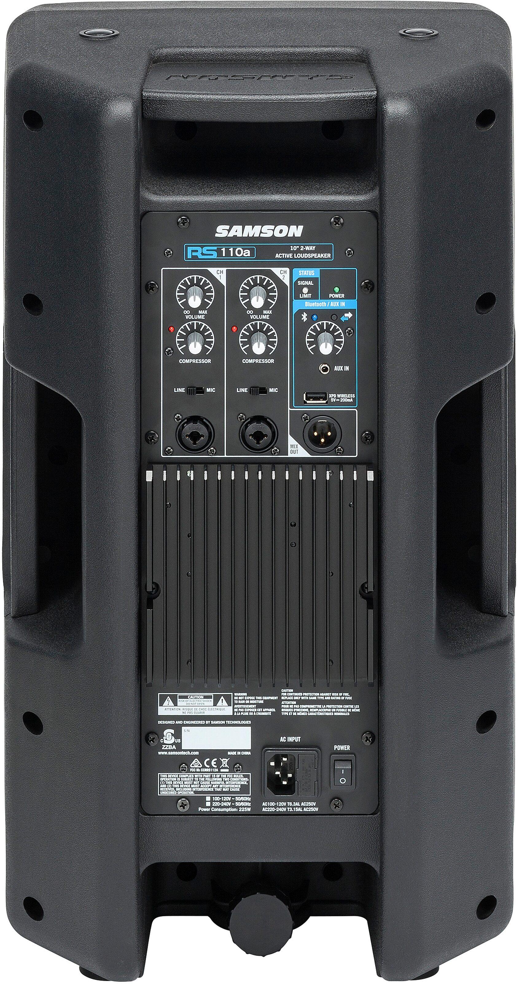 Samson RS110a - Cassa attiva 300w. due vie. 10