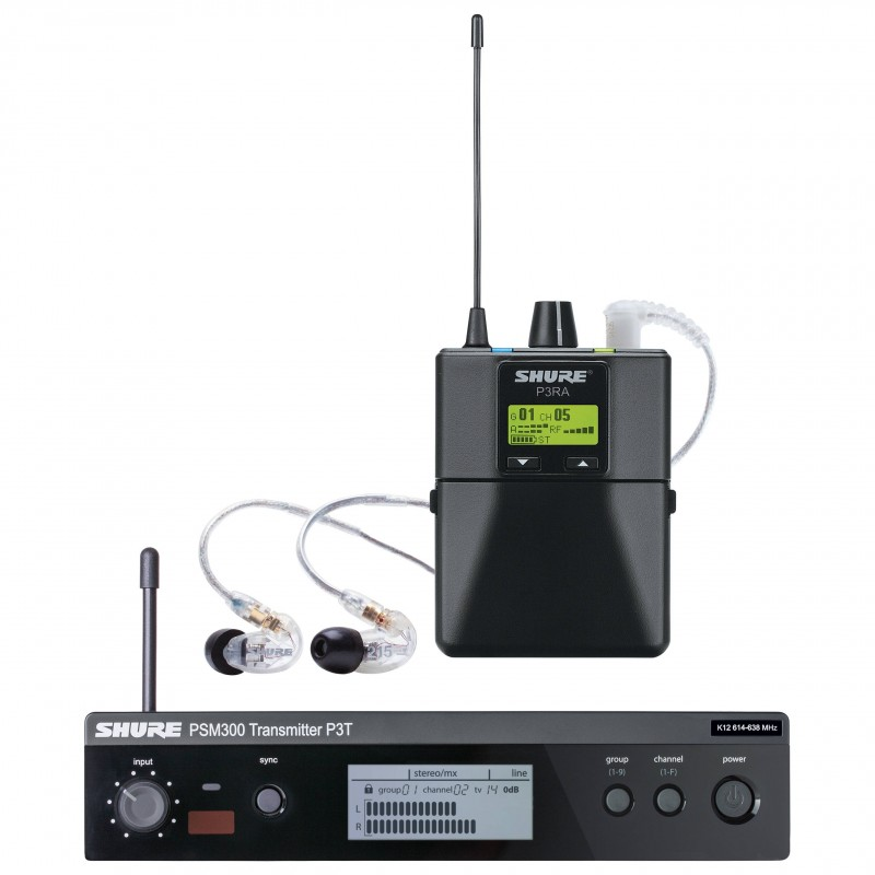 SHURE-PSM300-PREMIUM-CUFFIE-SE215-SISTEMA-EAR-MONITOR-sku-13828