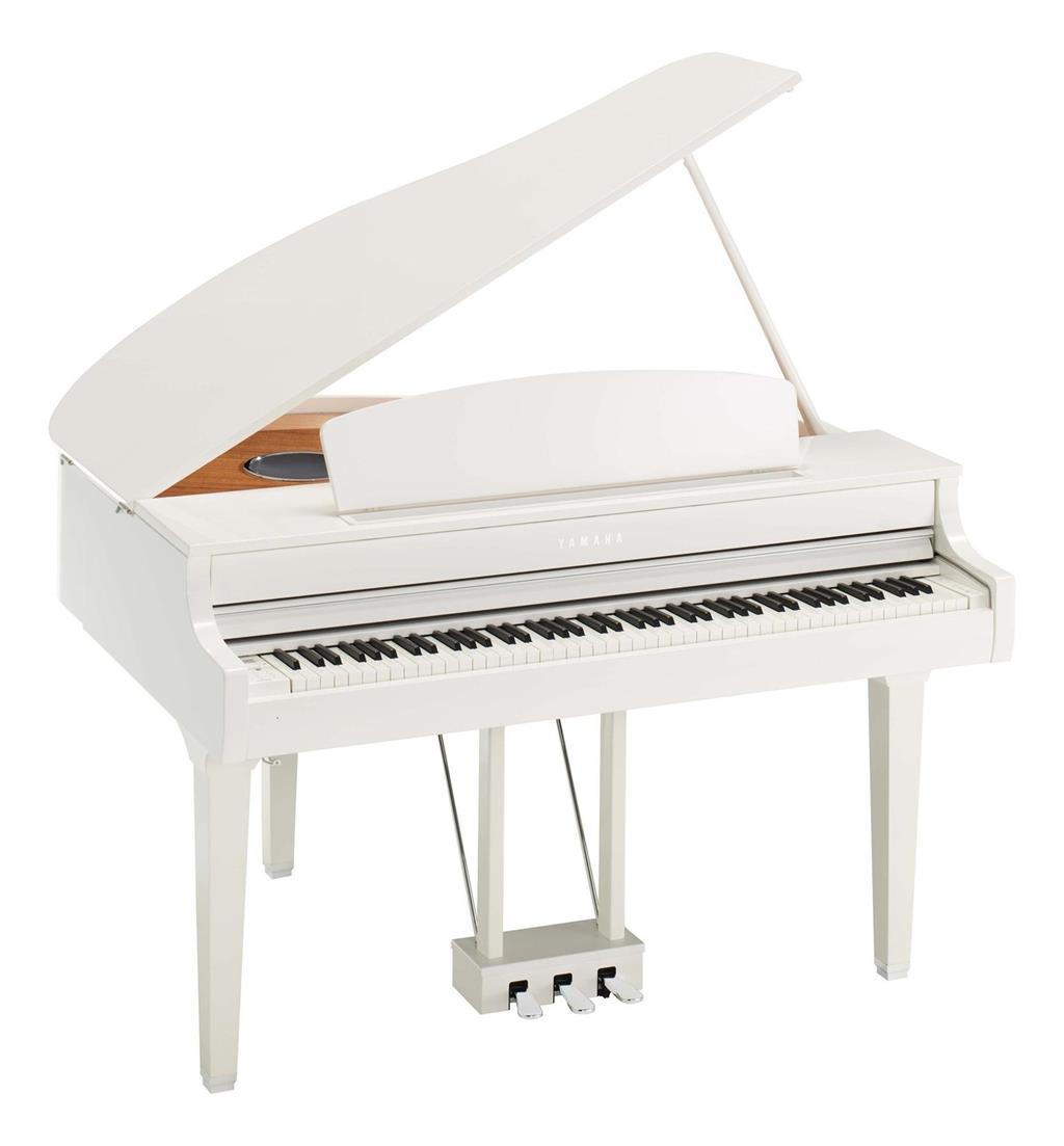 YAMAHA CLP695GPWH - CLAVINOVA - DIGITAL PIANO POLISHED WHITE