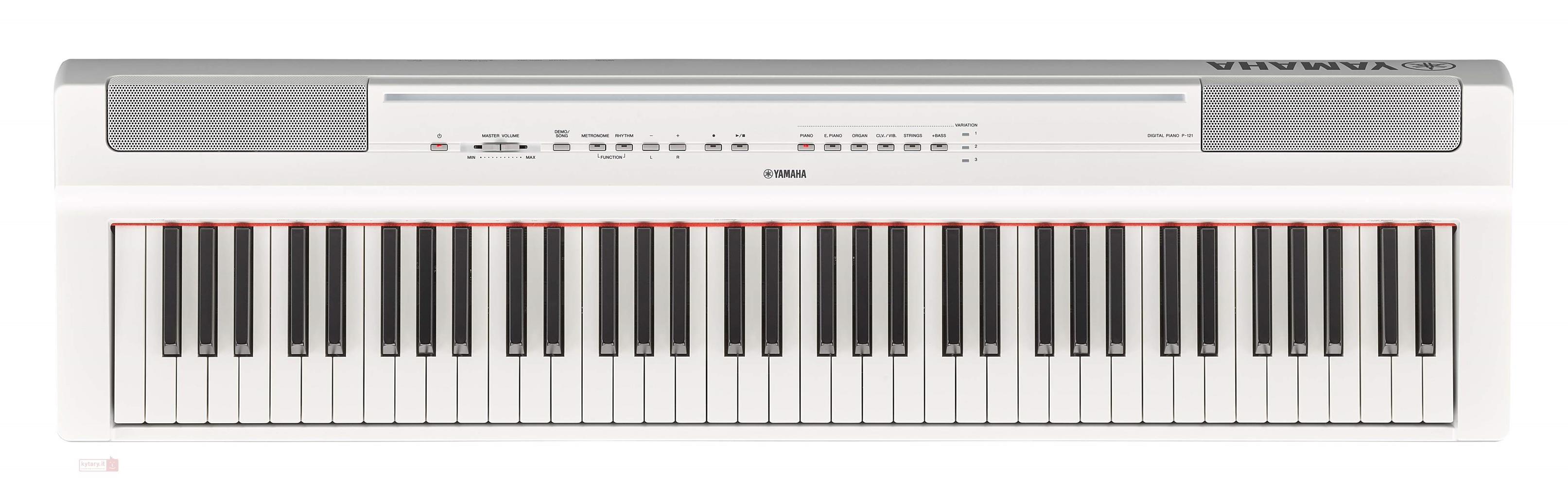 YAMAHA P121WH - DIGITAL PIANO WHITE