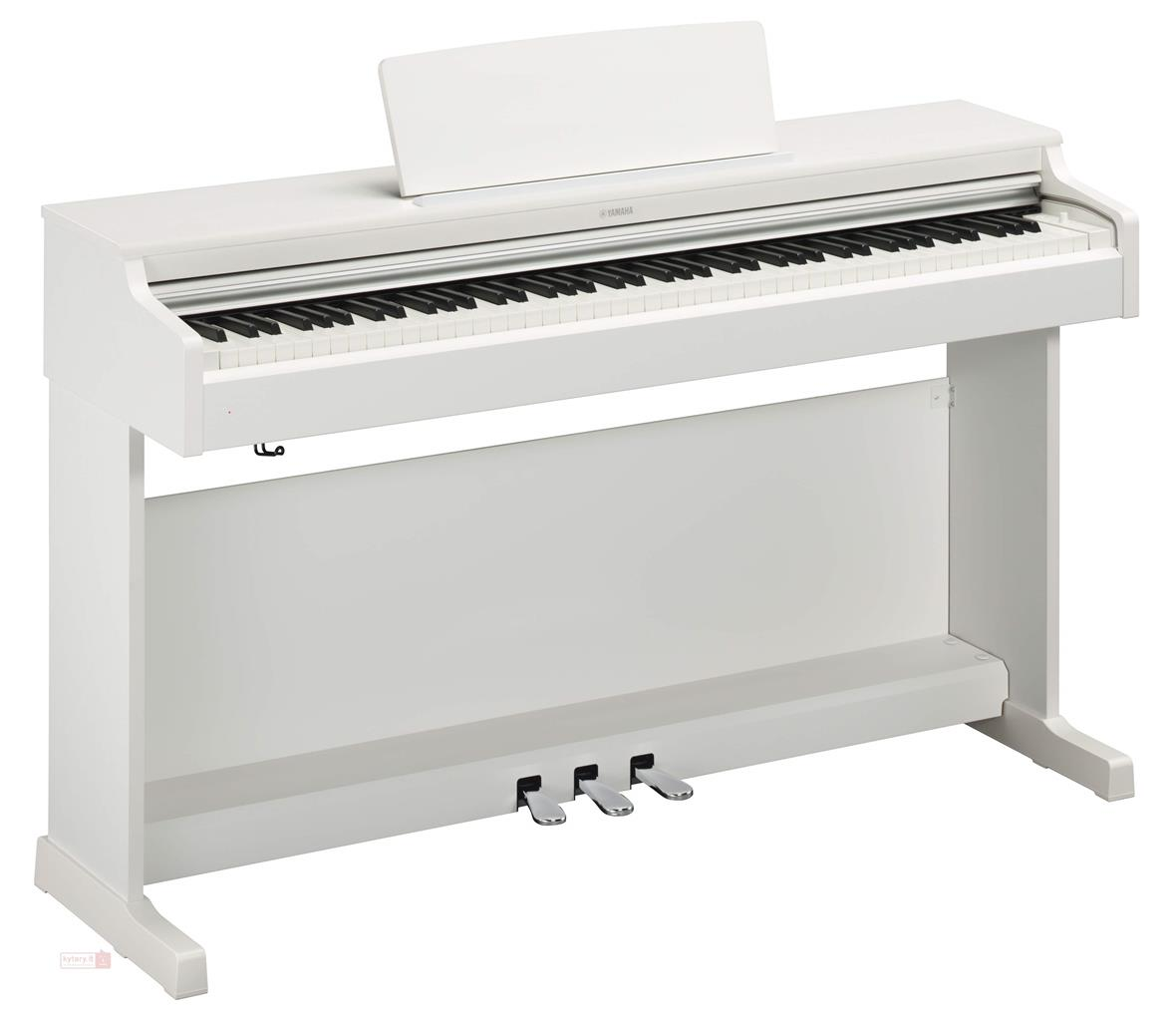 YAMAHA YDP164WH - ARIUS - DIGITAL PIANO WHITE
