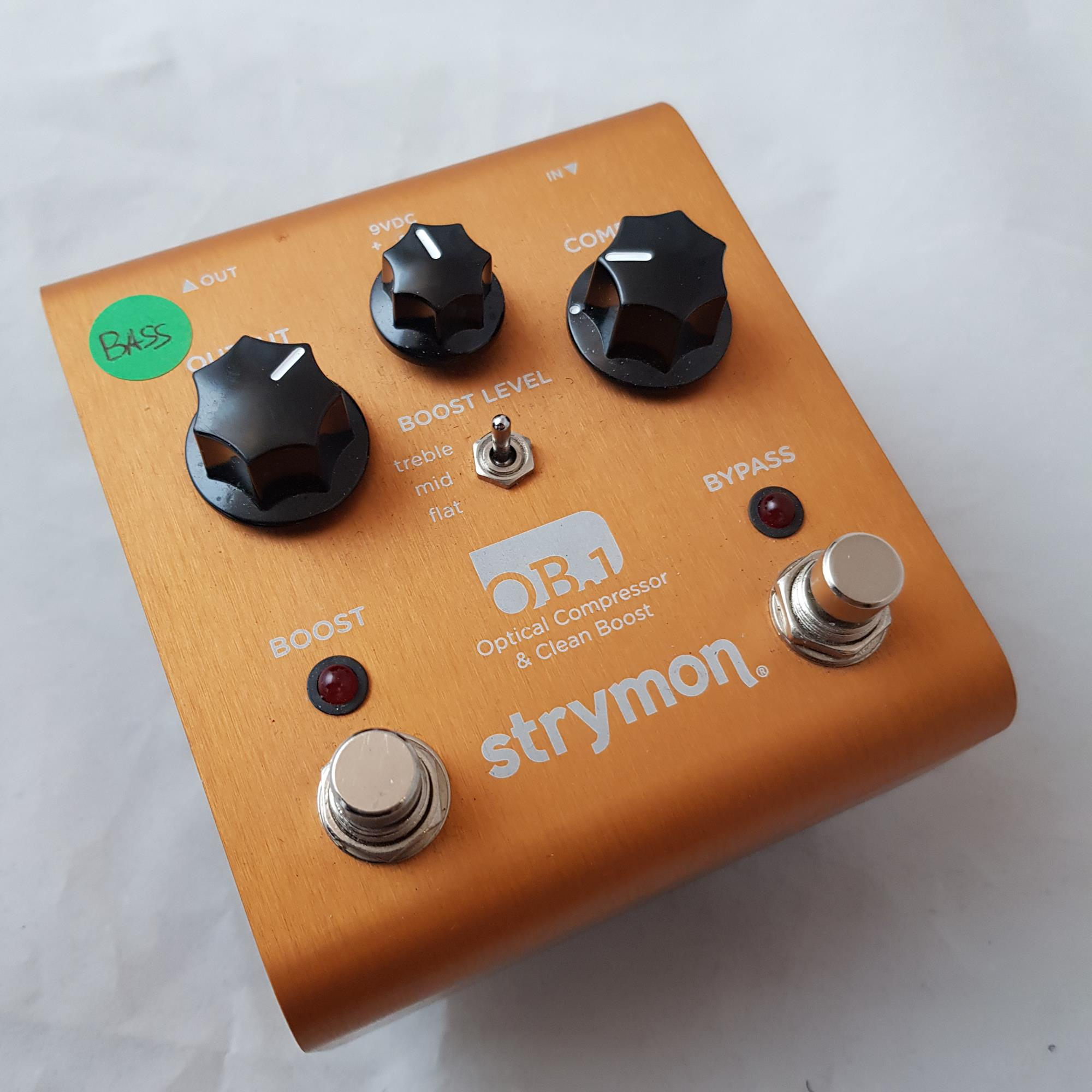 STRYMON OB1 BASS MOD COMP AND BOOST - Bassi Effetti - Compressori