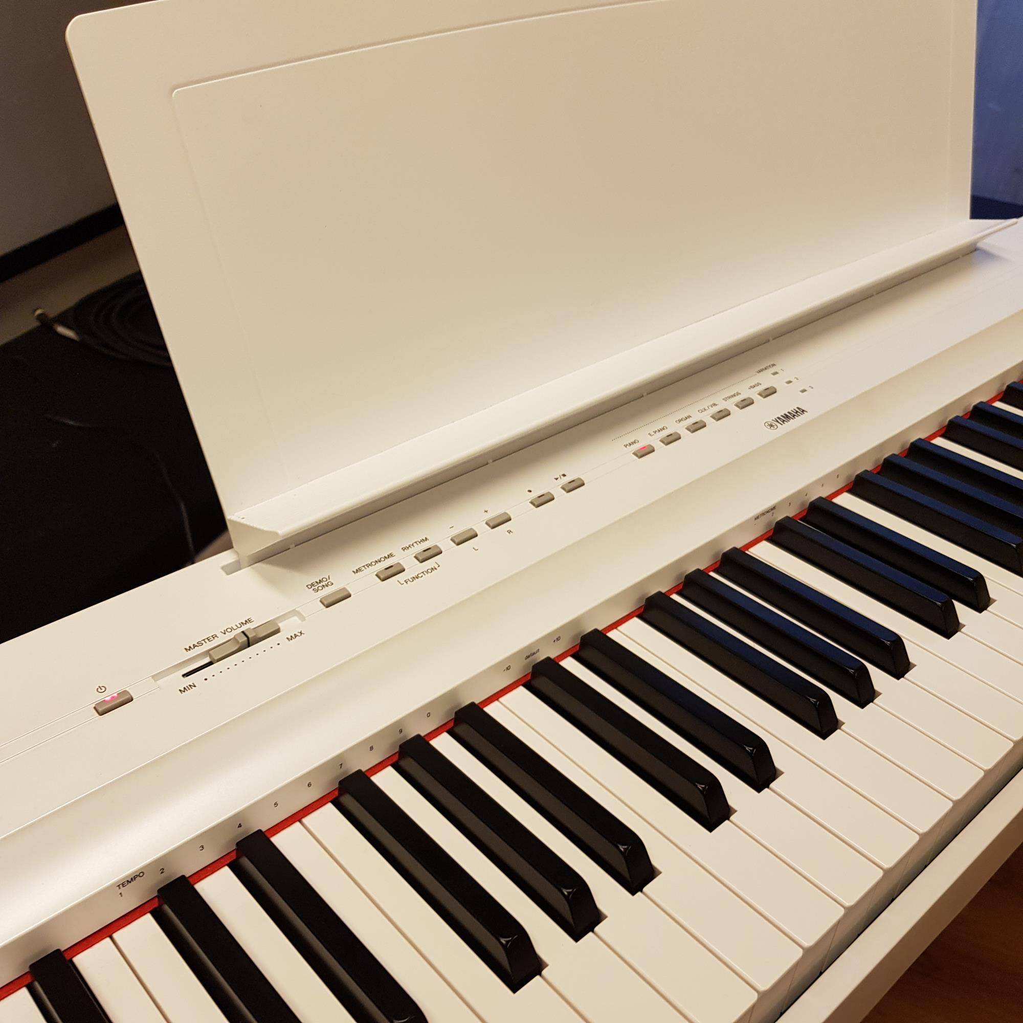 YAMAHA-P125-WHITE-PIANO-L125-STAND-WHITE-LP1-WHITE-PEDAL-UNIT-sku-1622890718790