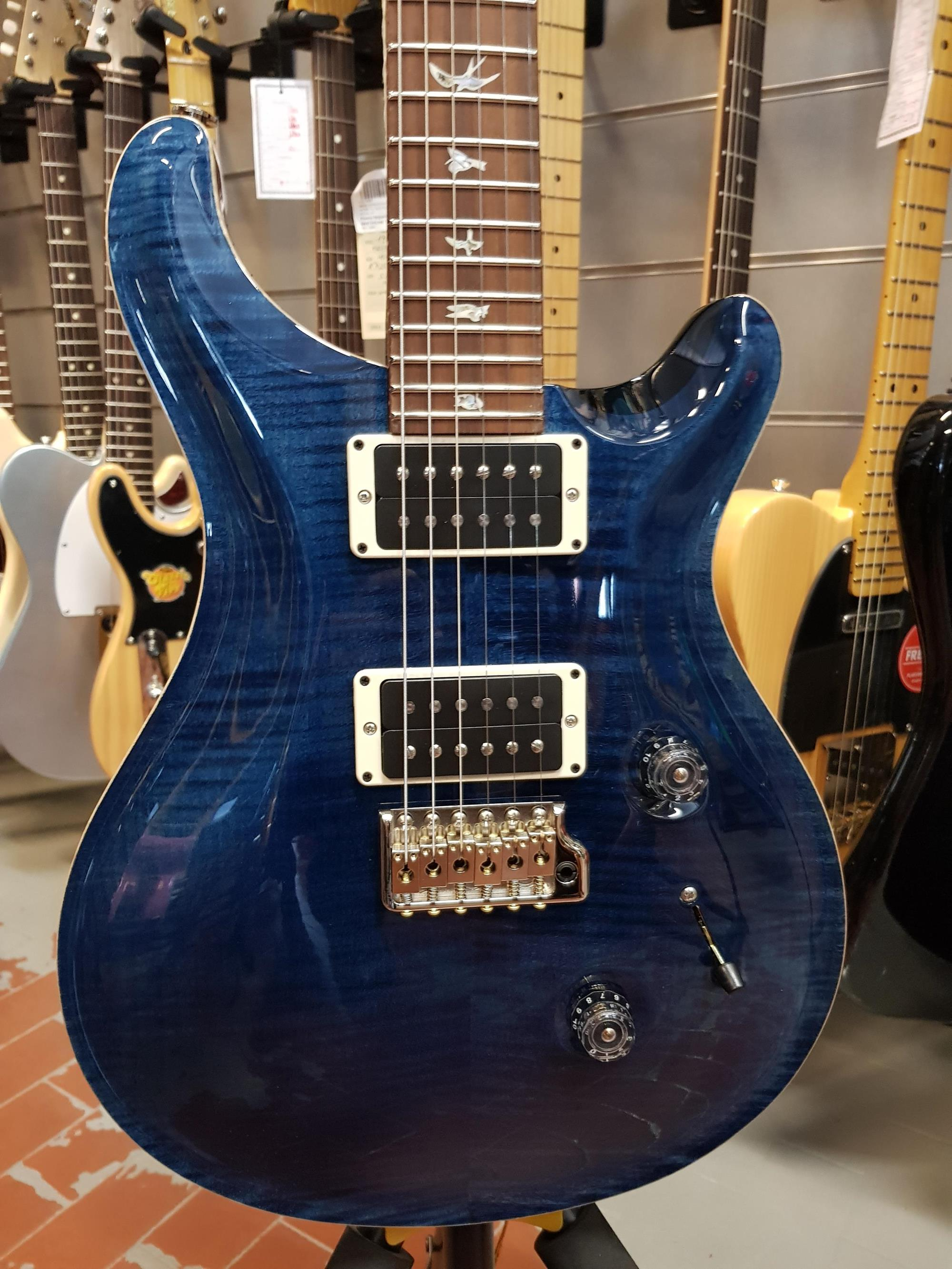 PRS - PAUL REED SMITH CORE CUSTOM 24 BIRDS WHALE BLUE 85/15 - Chitarre Chitarre - Elettriche