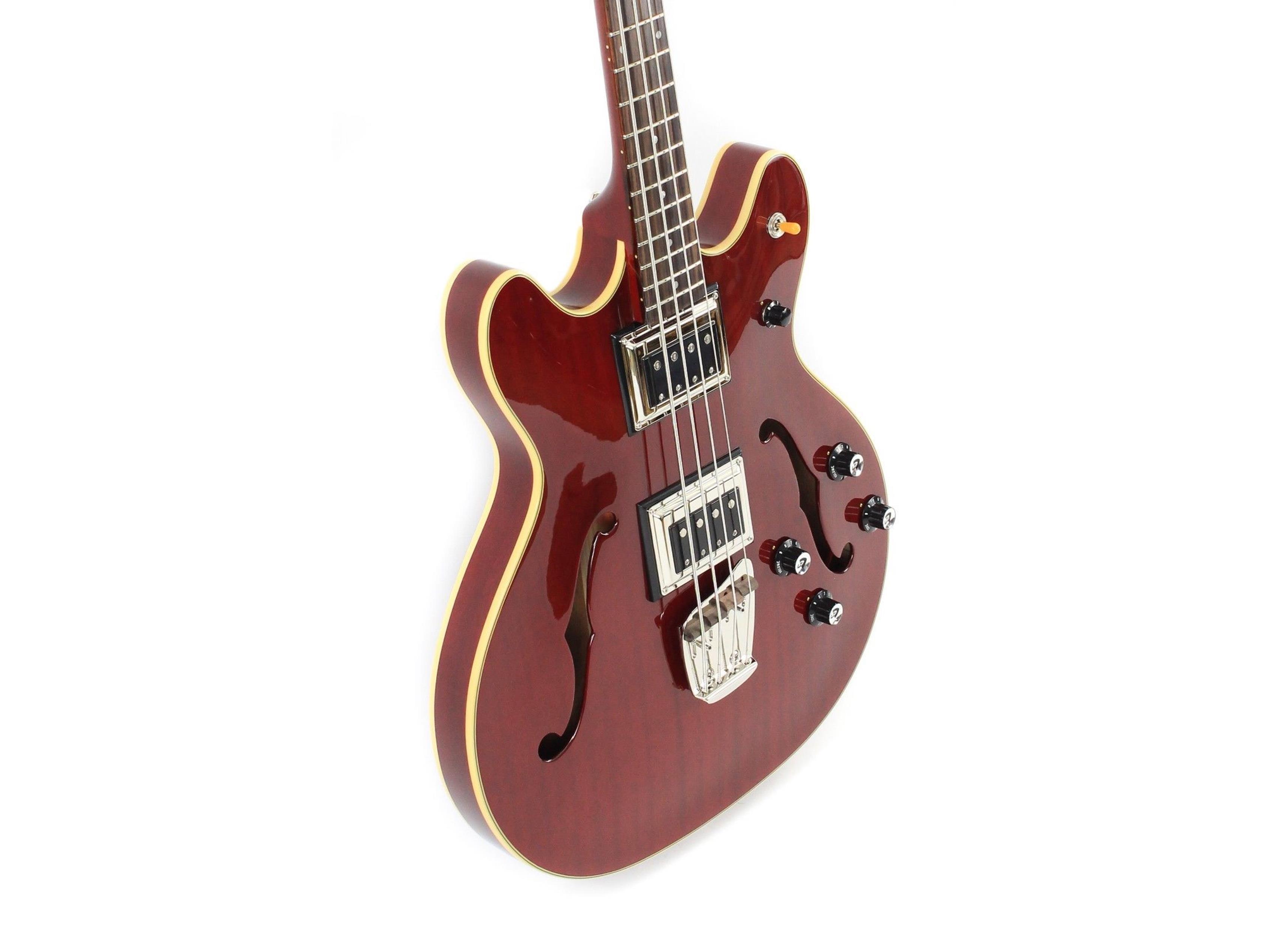GUILD Starfire Bass II Cherry hardshell case - 3792410866