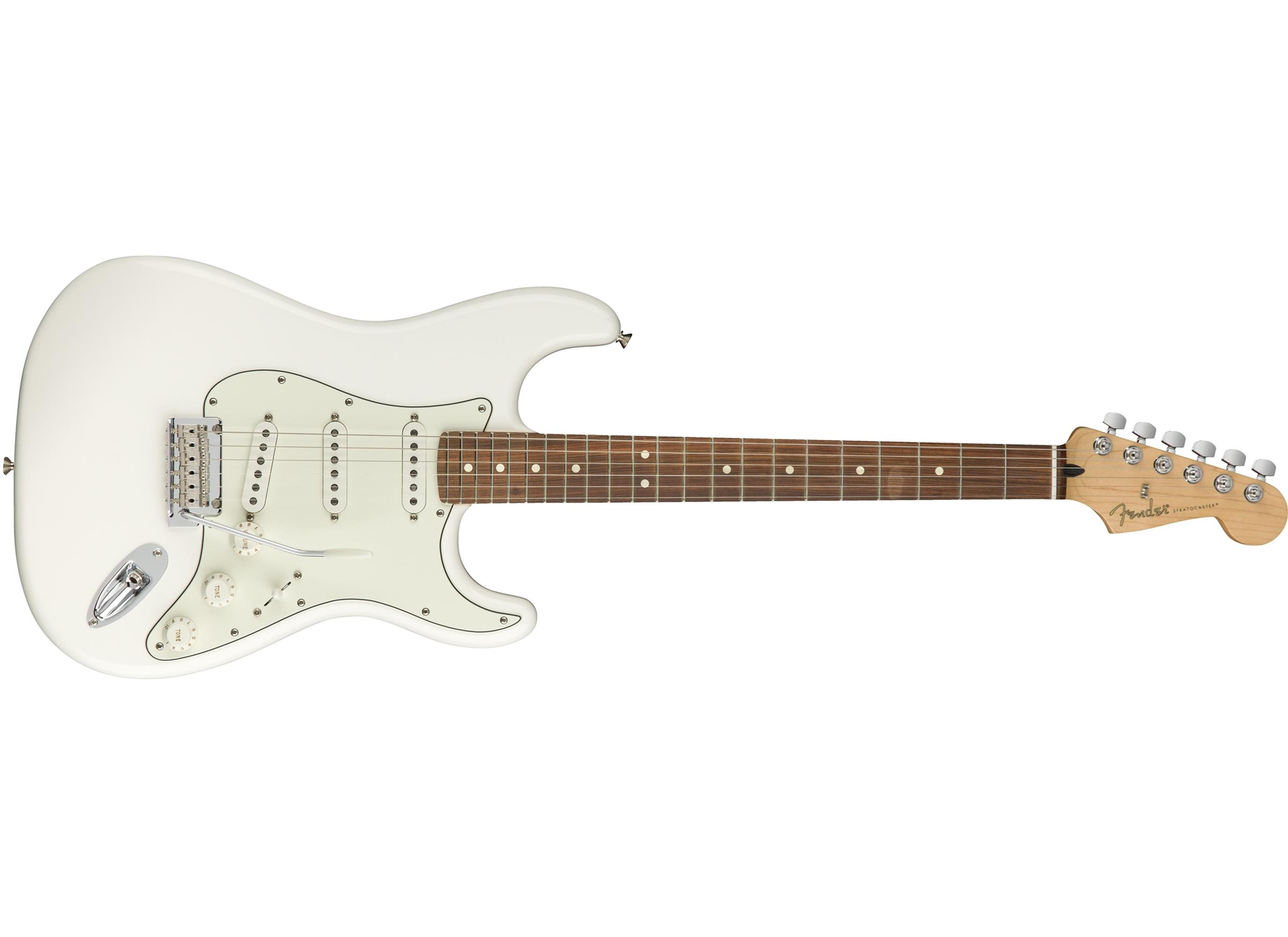 FENDER Player Stratocaster PF Polar White 0144503515
