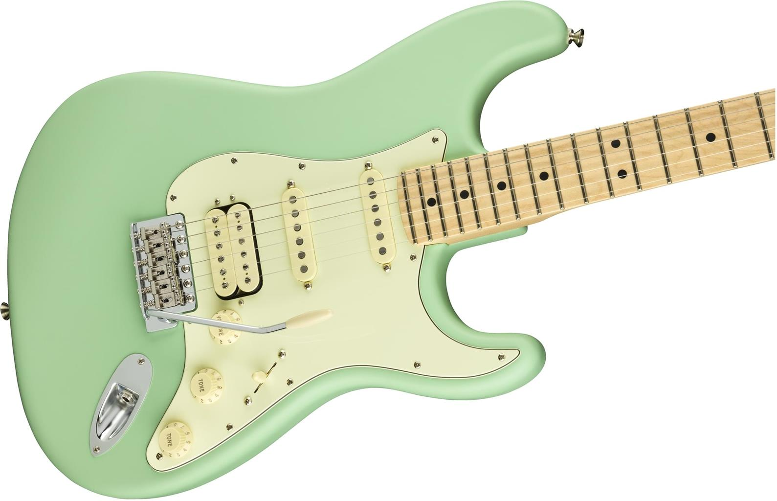 FENDER American Performer Stratocaster HSS MN Satin Surf Green 0114922357