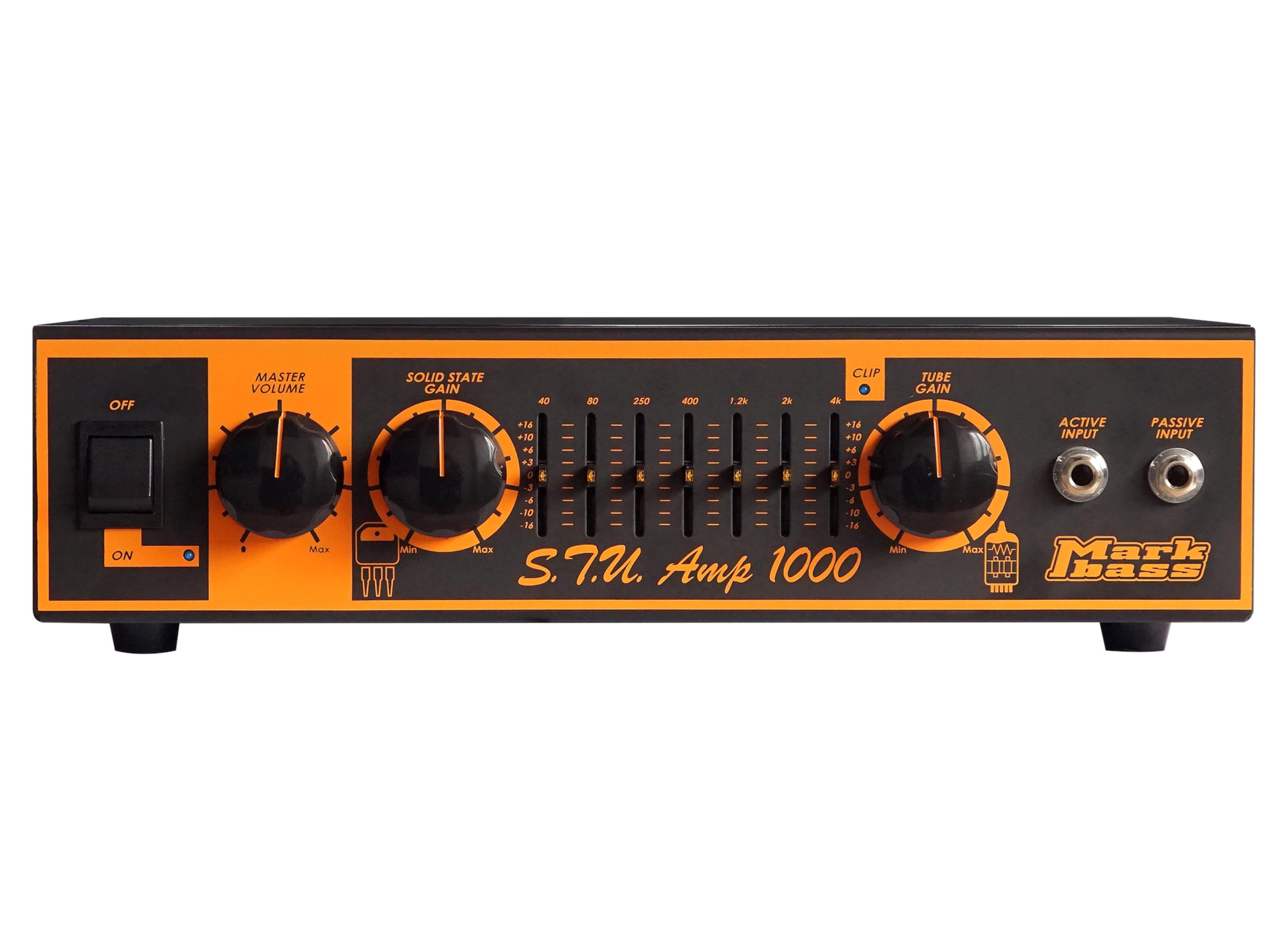MARKBASS STU AMP 1000 STUART HAMM - Bassi Amplificatori - Testate