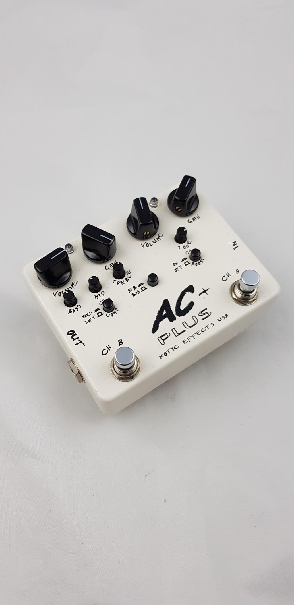 XOTIC AC PLUS OVERDRIVE .