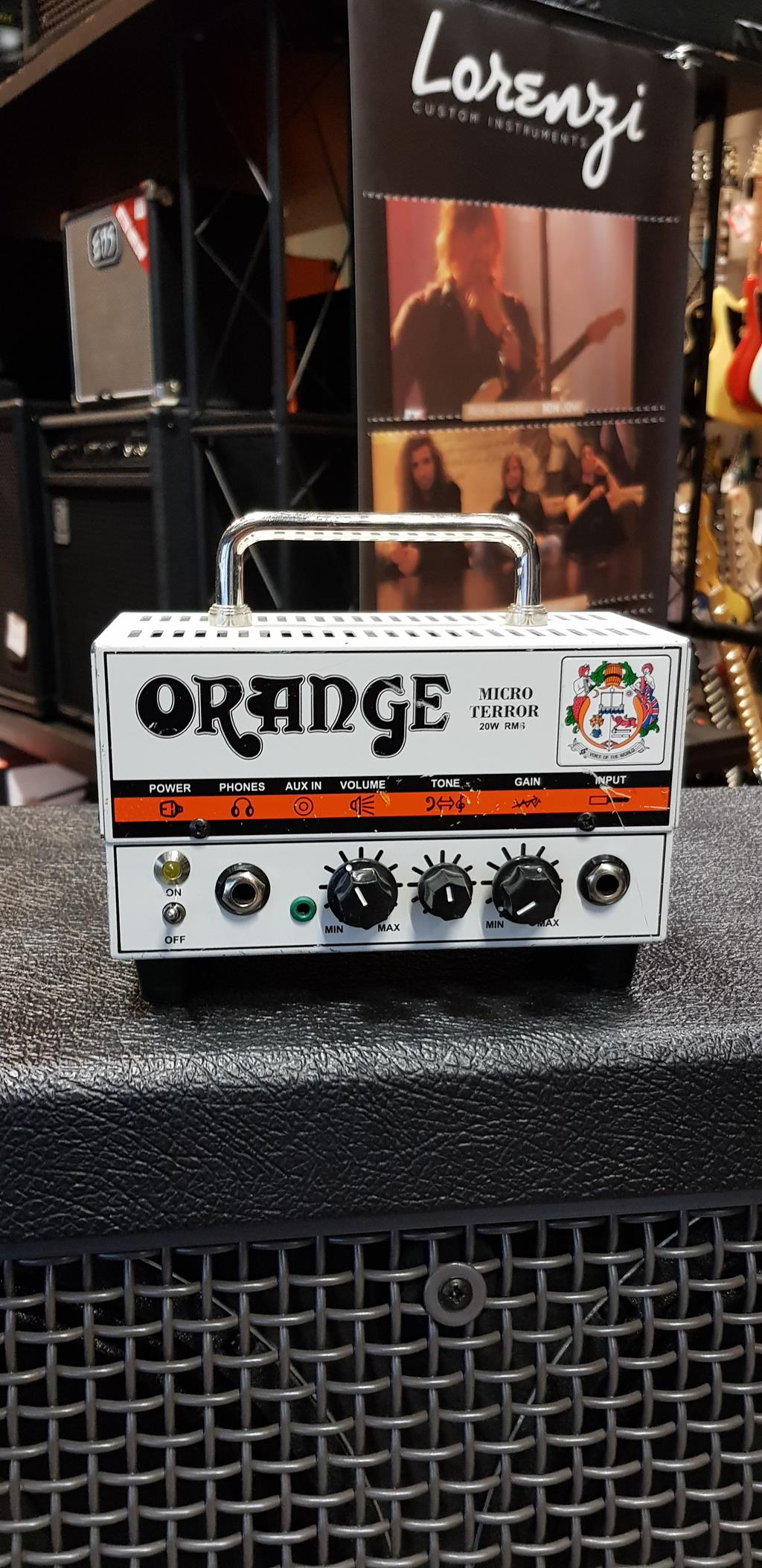 ORANGE MT-20 MICRO TERROR HEAD .