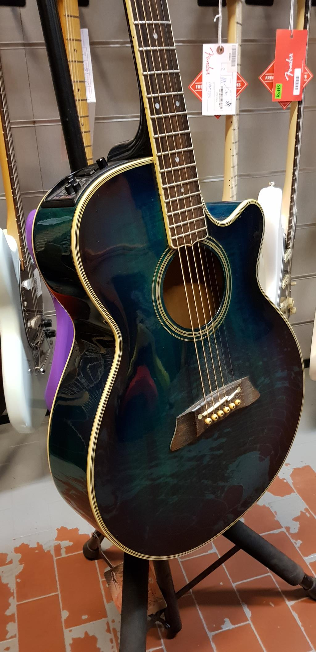 TAKAMINE SEF 391 MB ACOUSTIC GUITAR ..