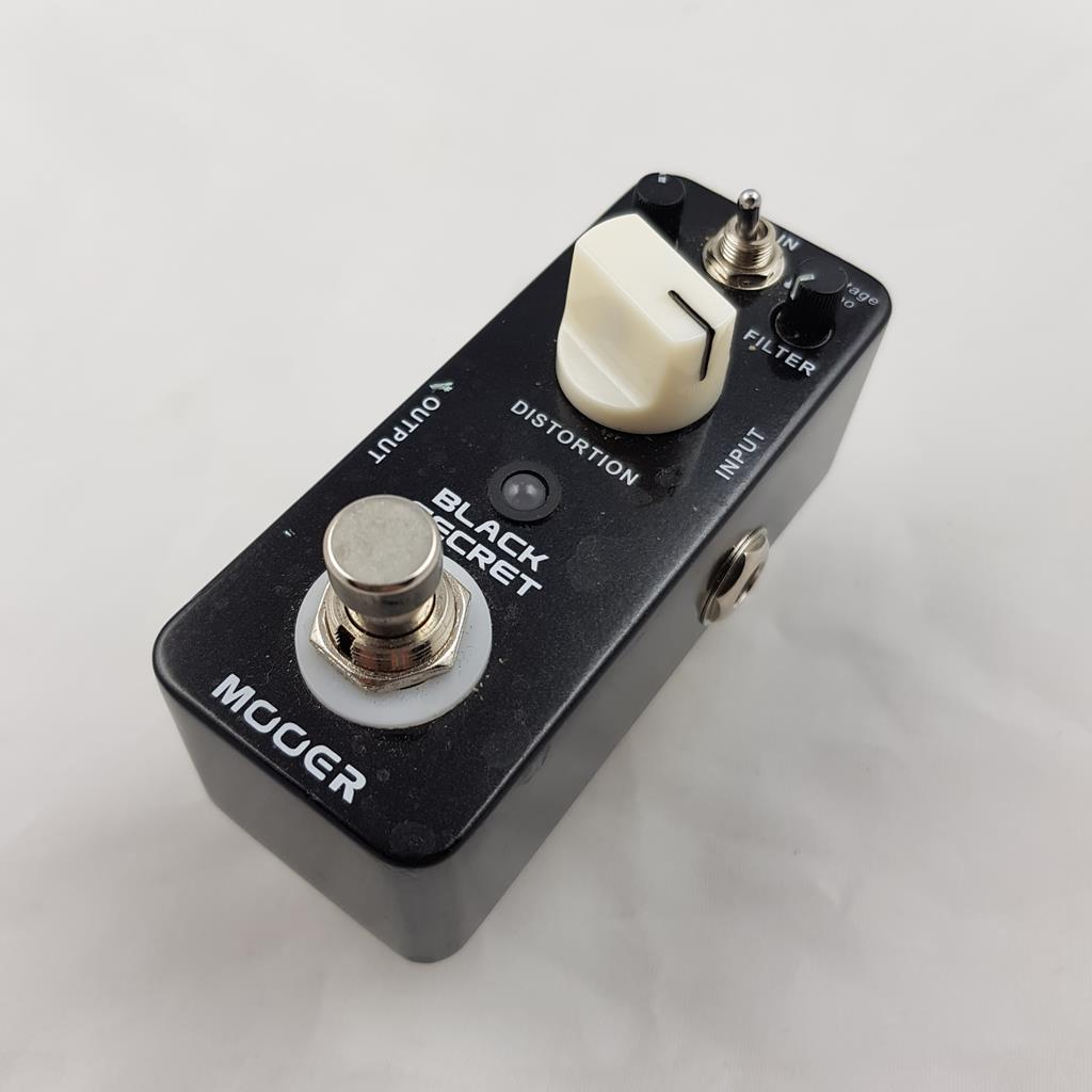 MOOER BLACK SECRET DISTORSORE .